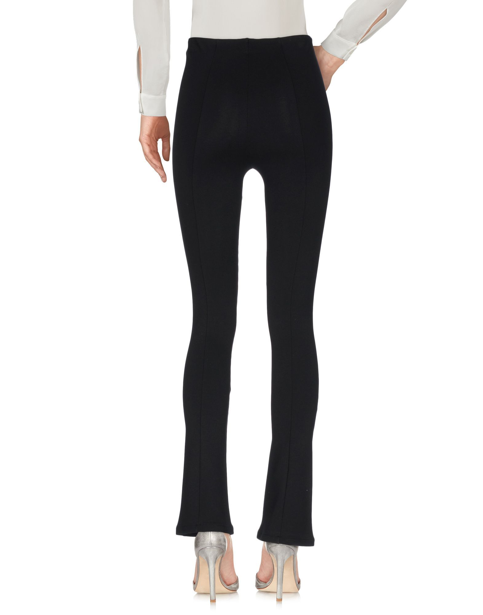 Patrizia Pepe Black Stretch Trousers