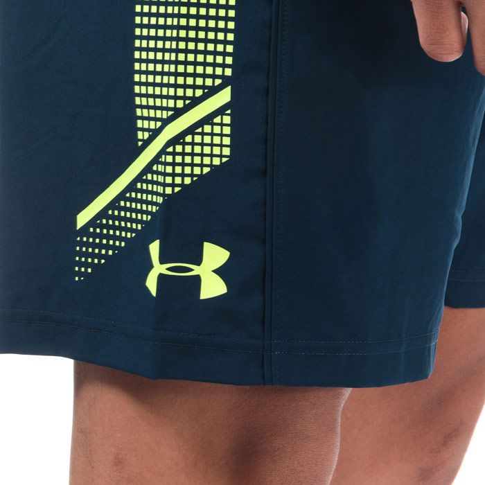 Men's Under Armour Woven Graphic Shorts in Navy