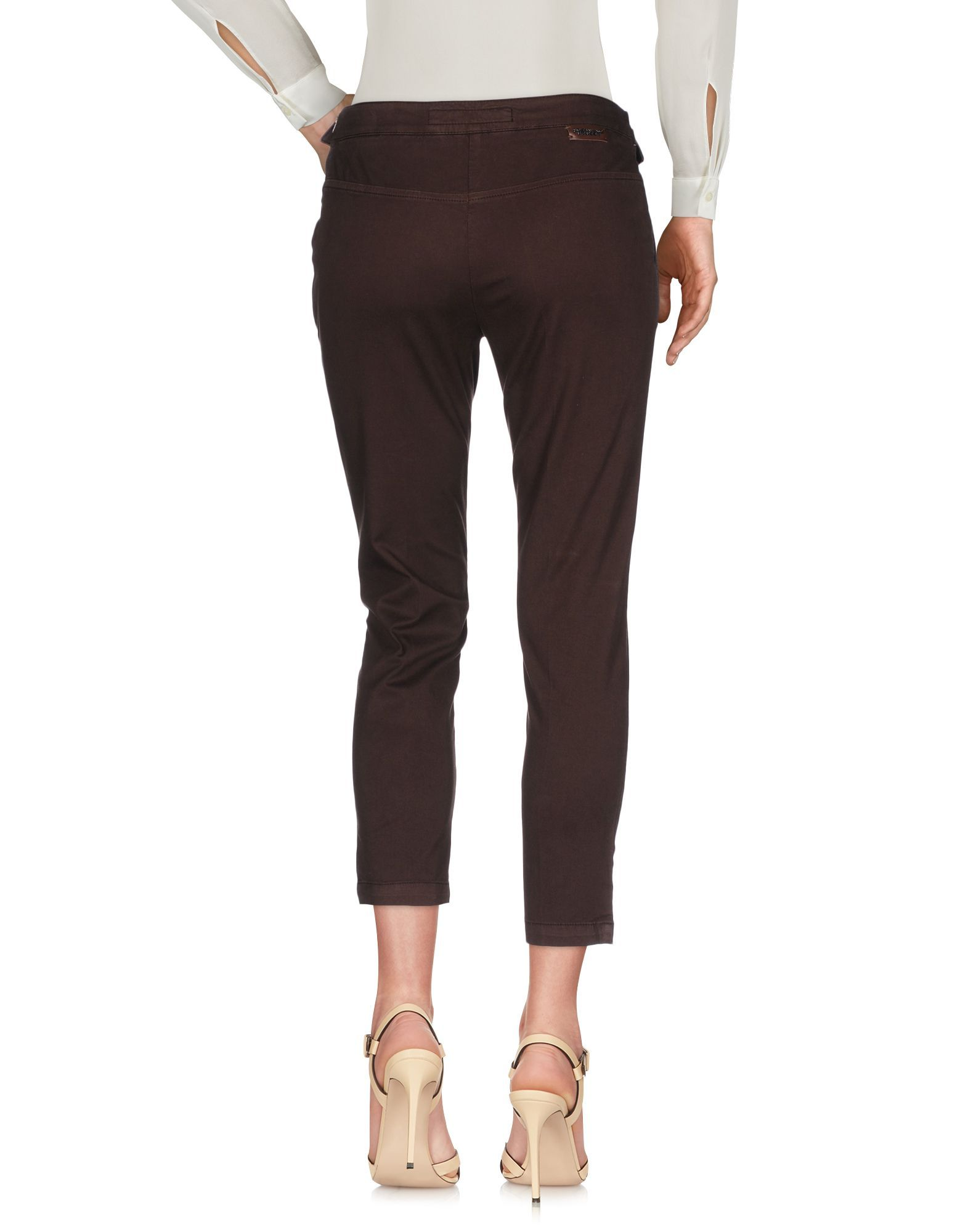 TROUSERS Scervino Street Dark brown Woman Cotton