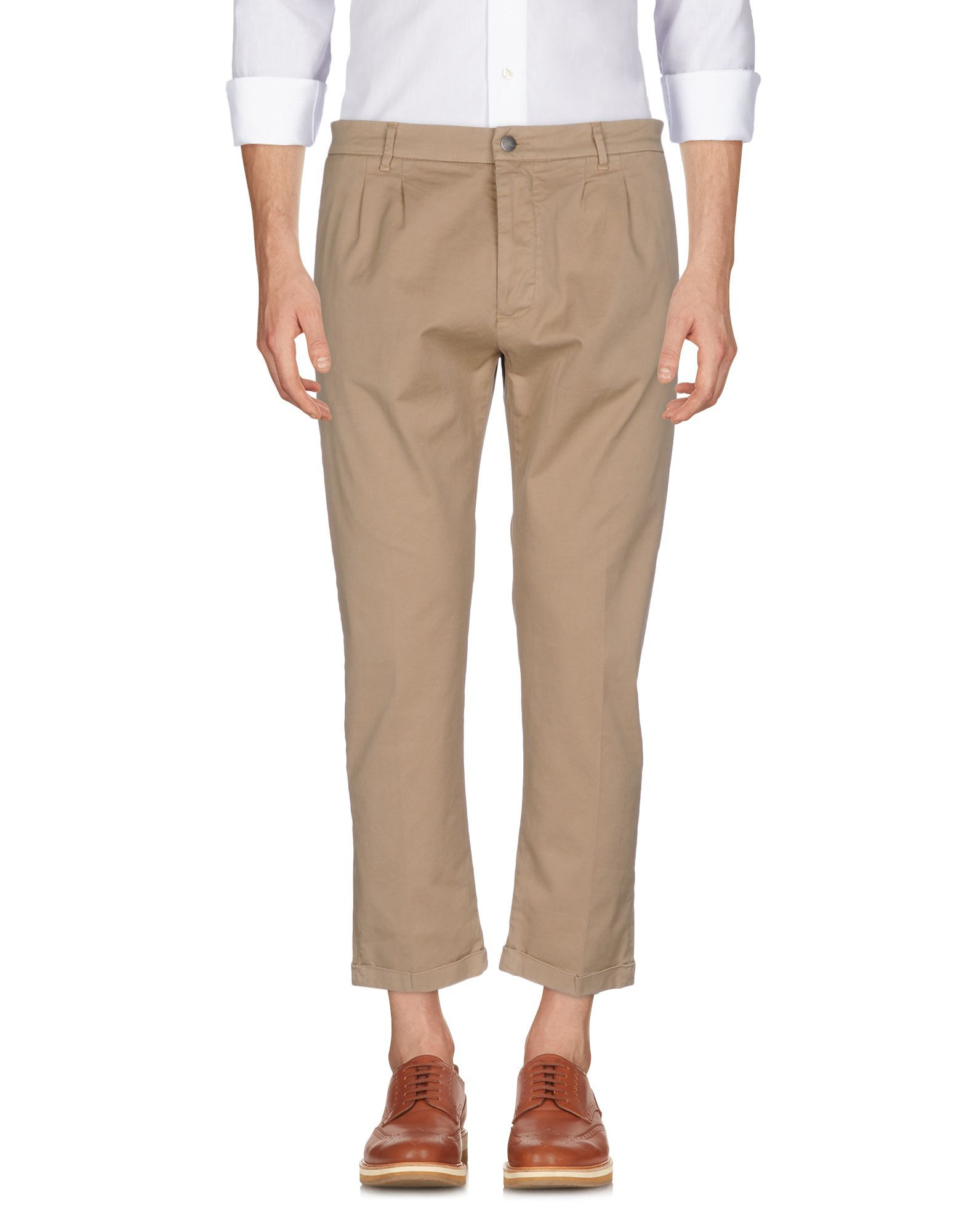 TROUSERS (+) People Camel Man Cotton