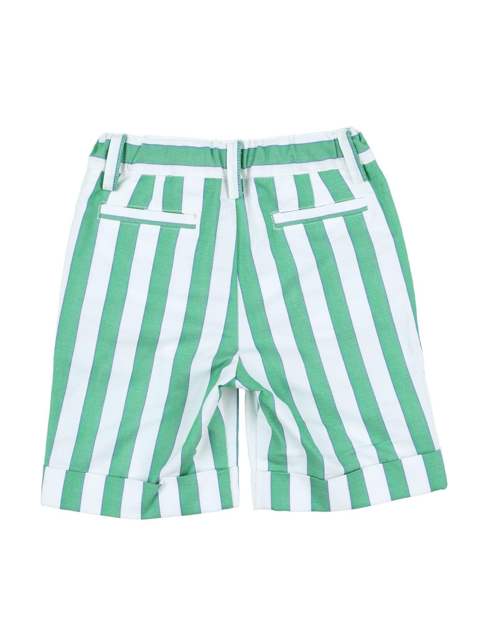TROUSERS Simonetta Mini Green Boy Cotton