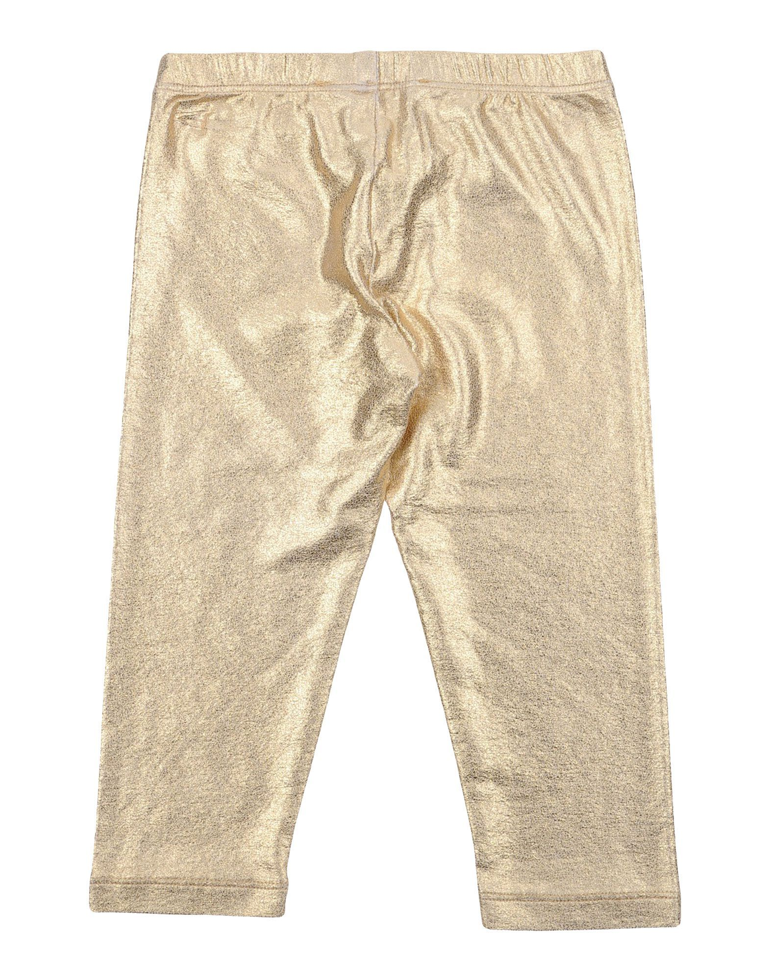 TROUSERS Patrizia Pepe Gold Girl Viscose