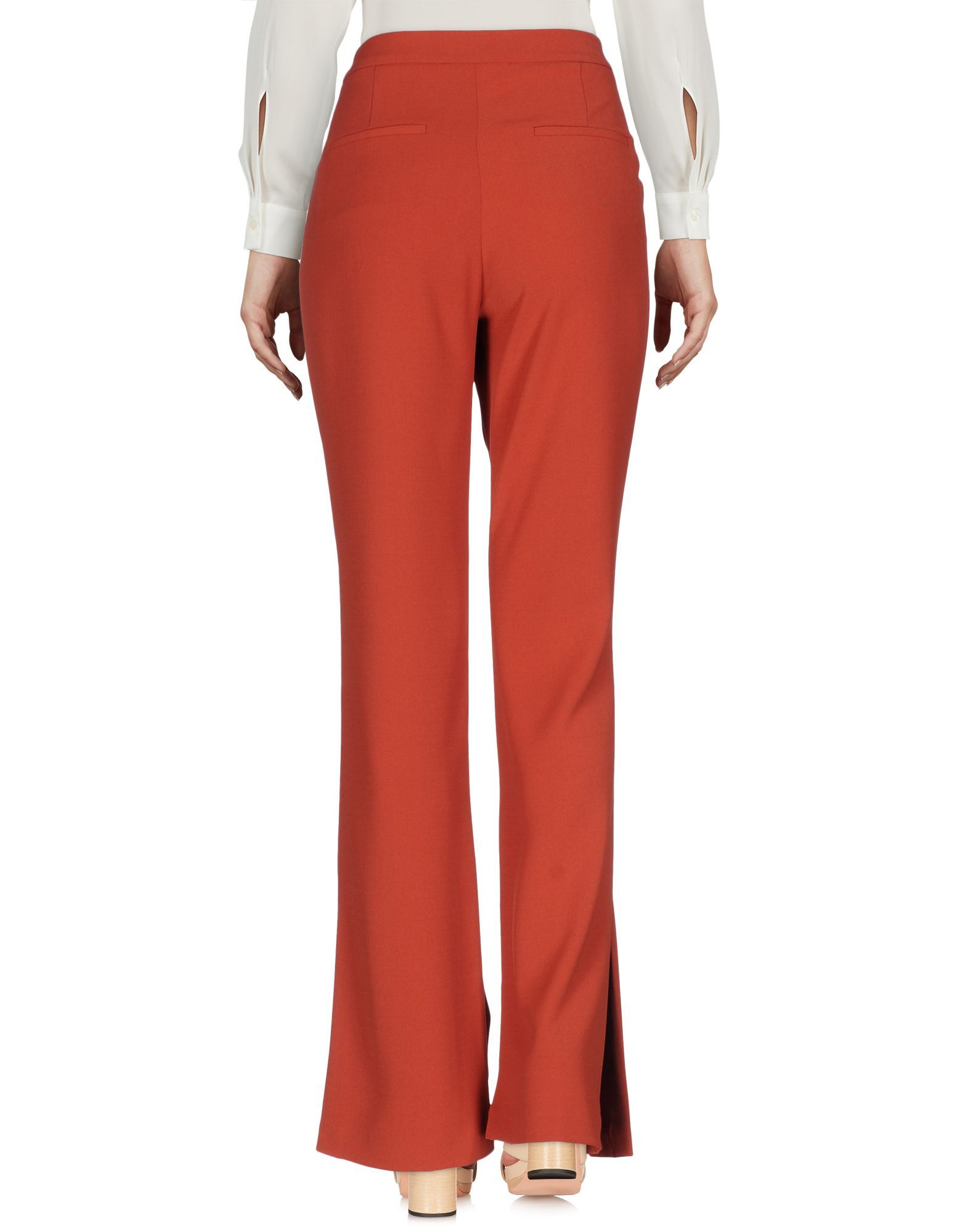 TROUSERS Ty-Lr Brick red Woman Polyester
