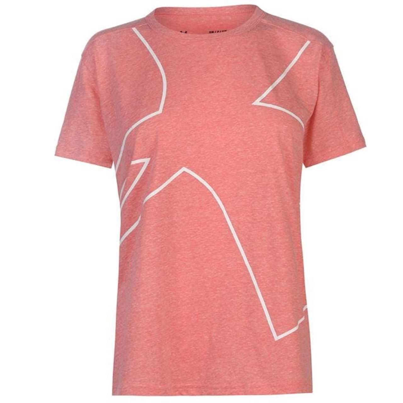 Under Armour Triblend Graphic Womens T-Shirt Pink