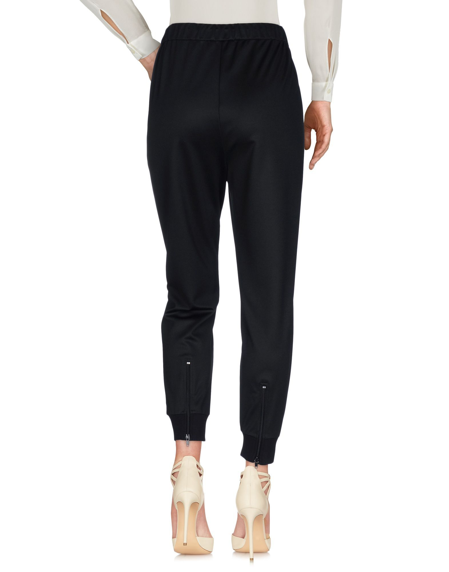 Twinset Black Tapered Leg Trousers