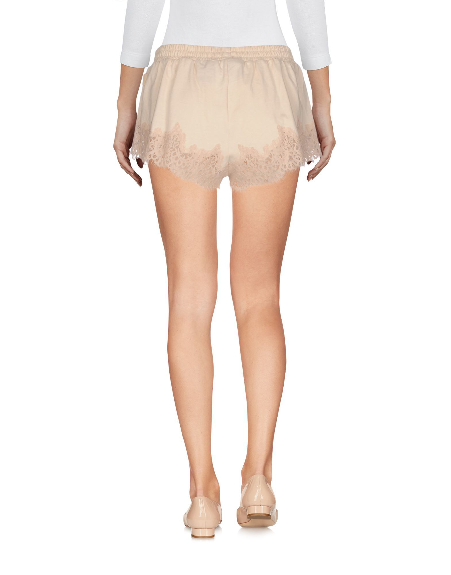 Fenty Puma By Rihanna Sand Cotton Lace Shorts