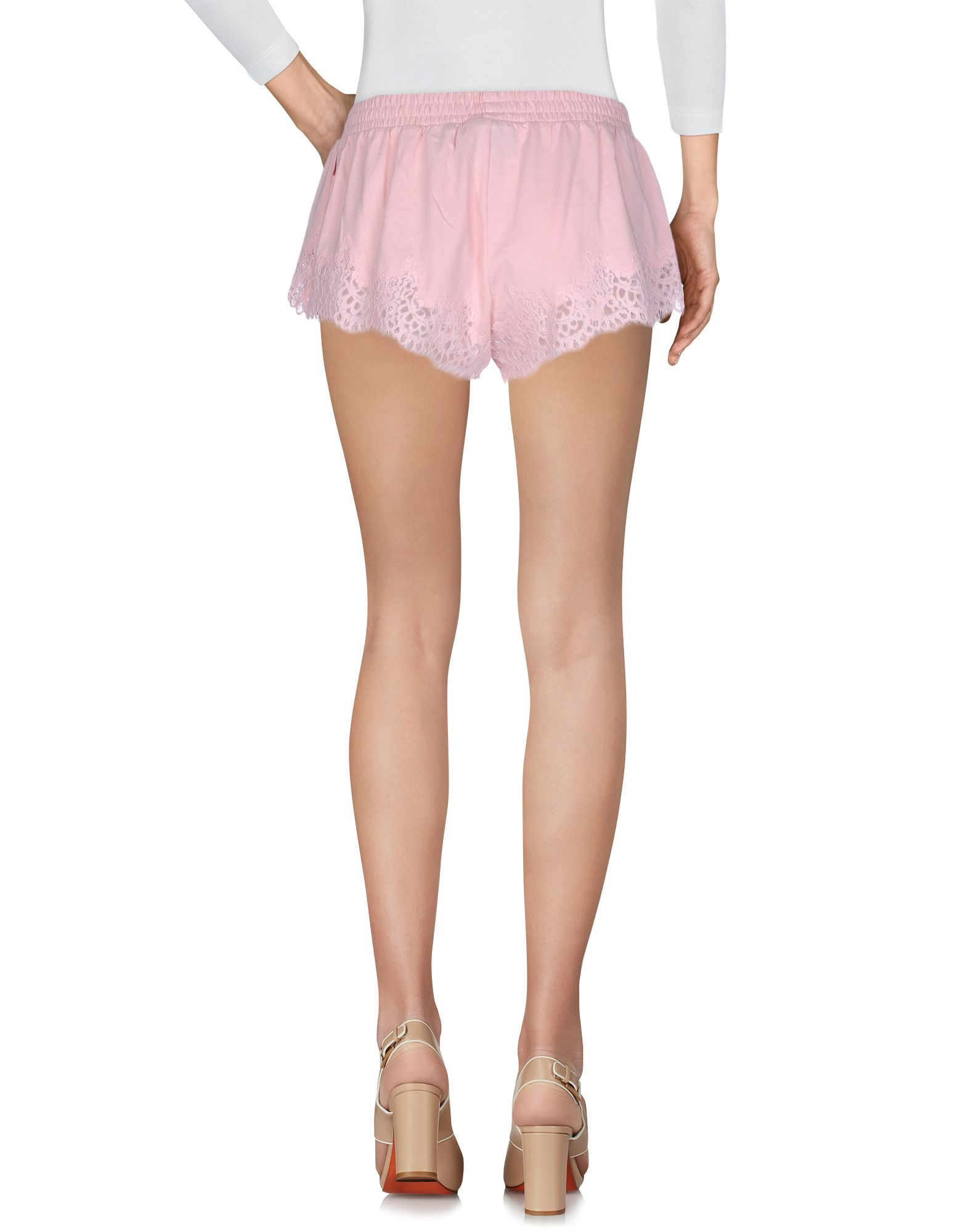 Fenty Puma By Rihanna Pink Cotton Lace Shorts