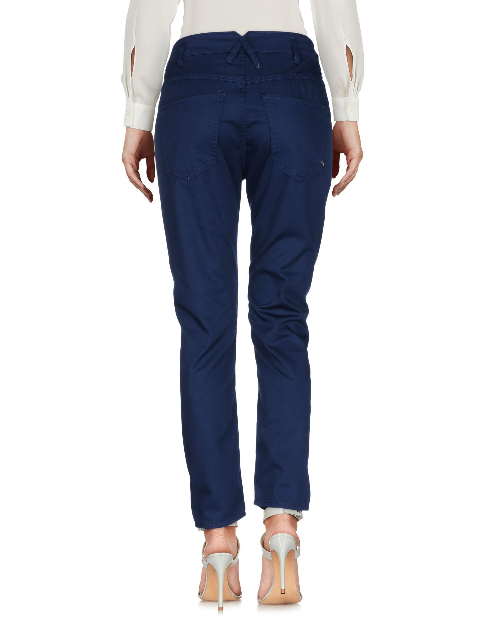 Cycle Dark Blue Tapered Leg Chino Trousers