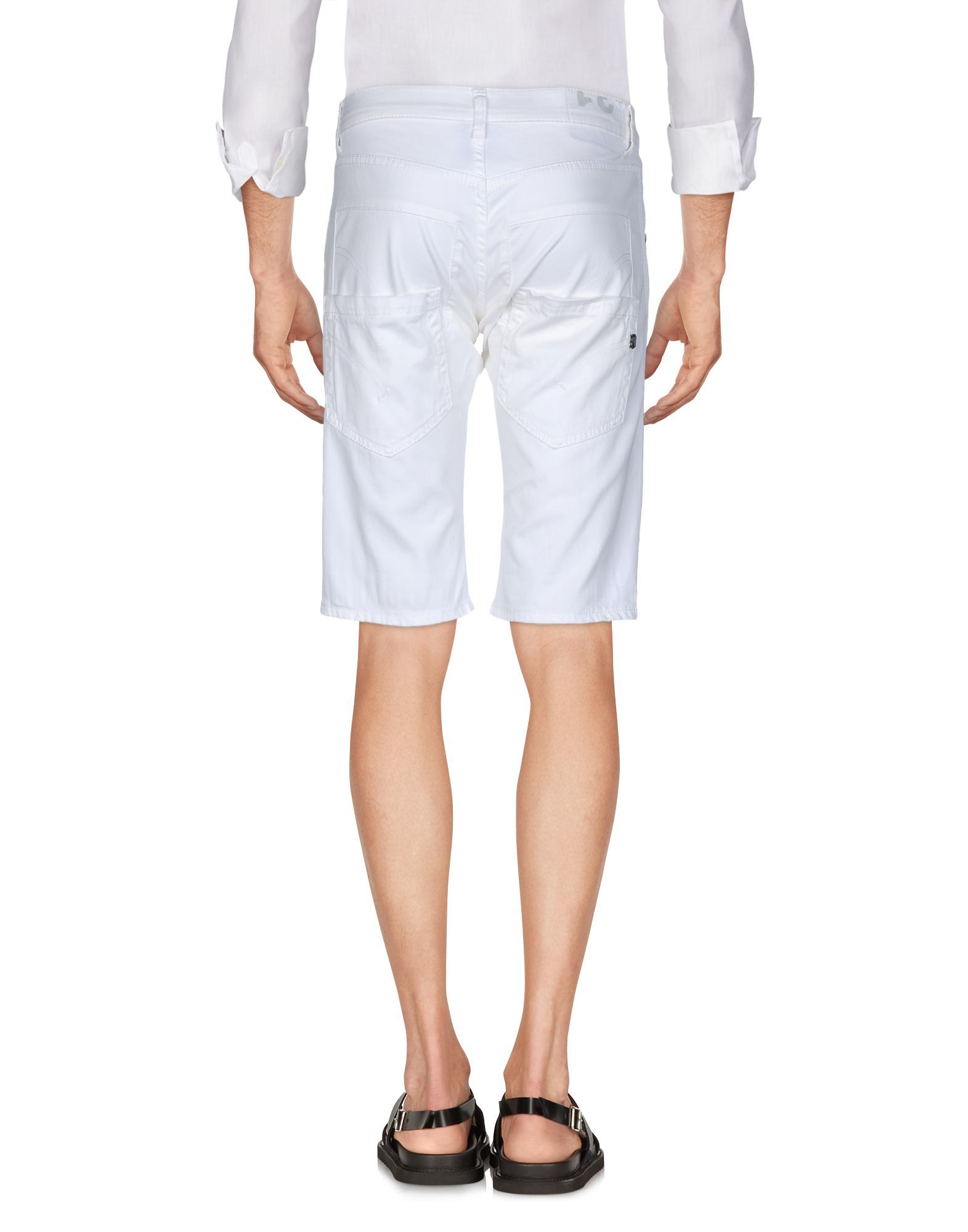 TROUSERS Man Dondup Ivory Cotton