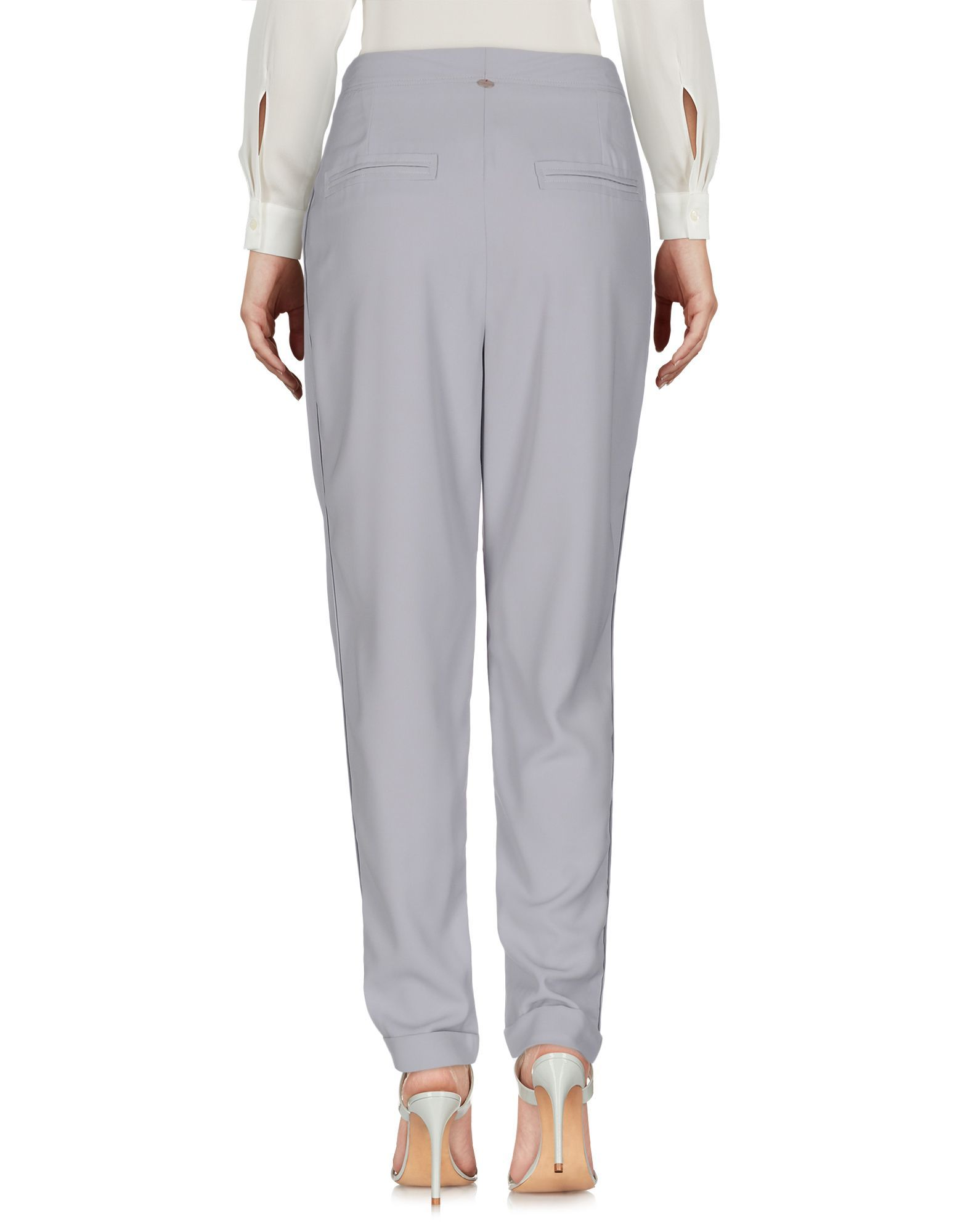 TROUSERS Liviana Conti Grey Woman Polyester