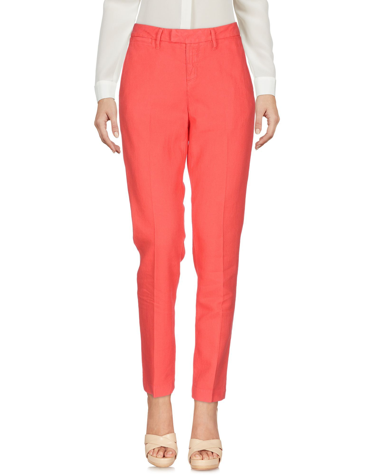 TROUSERS Haikure Coral Woman Cotton