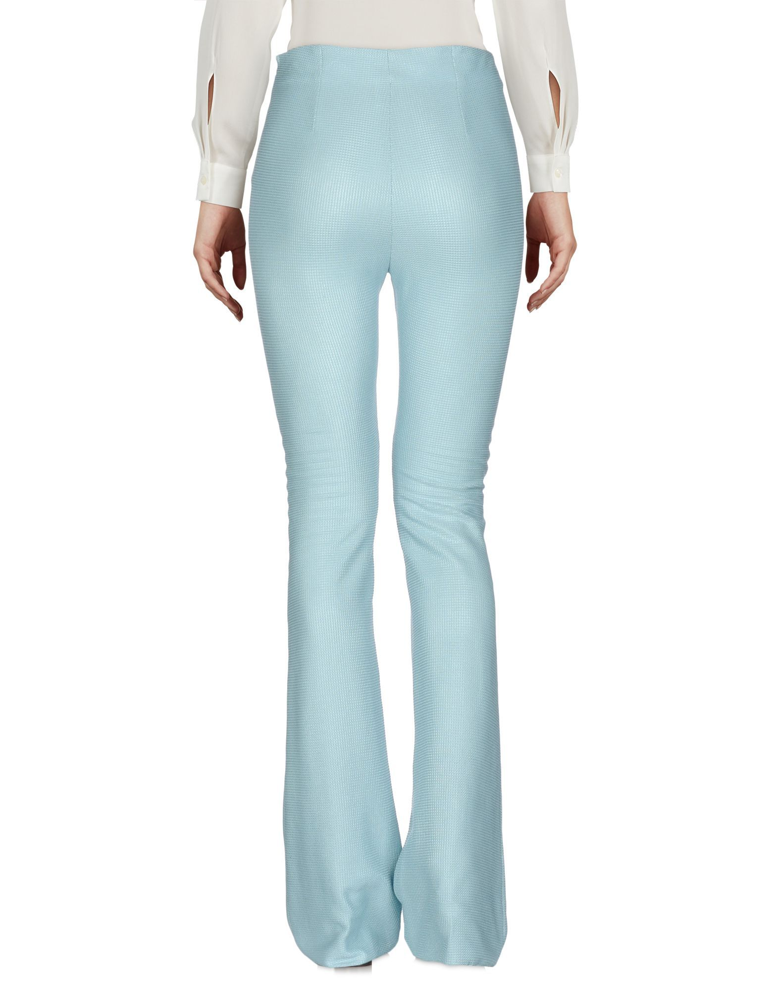TROUSERS Peter A & Chronicles Light green Woman Cotton