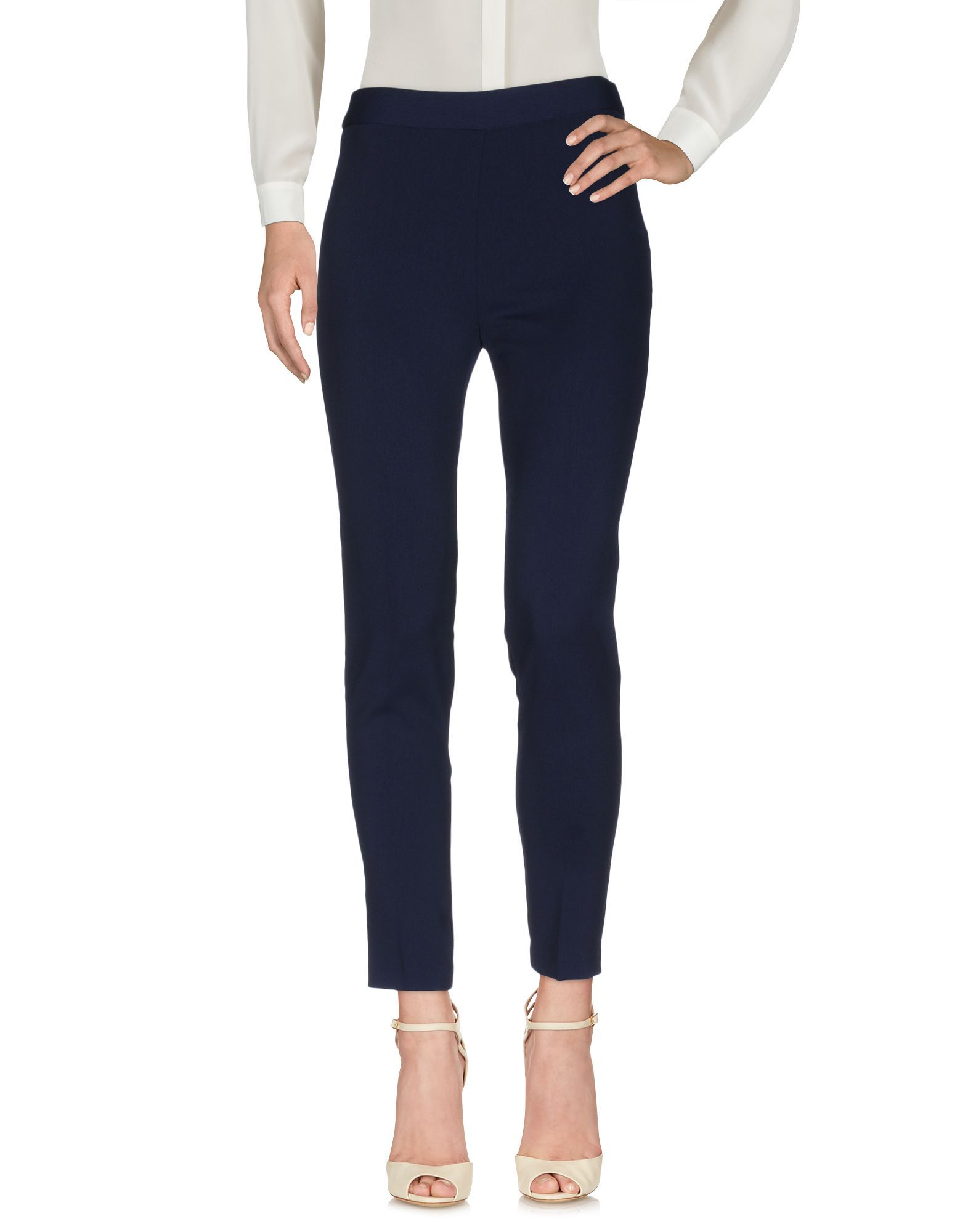 TROUSERS Toy G. Dark blue Woman Polyester