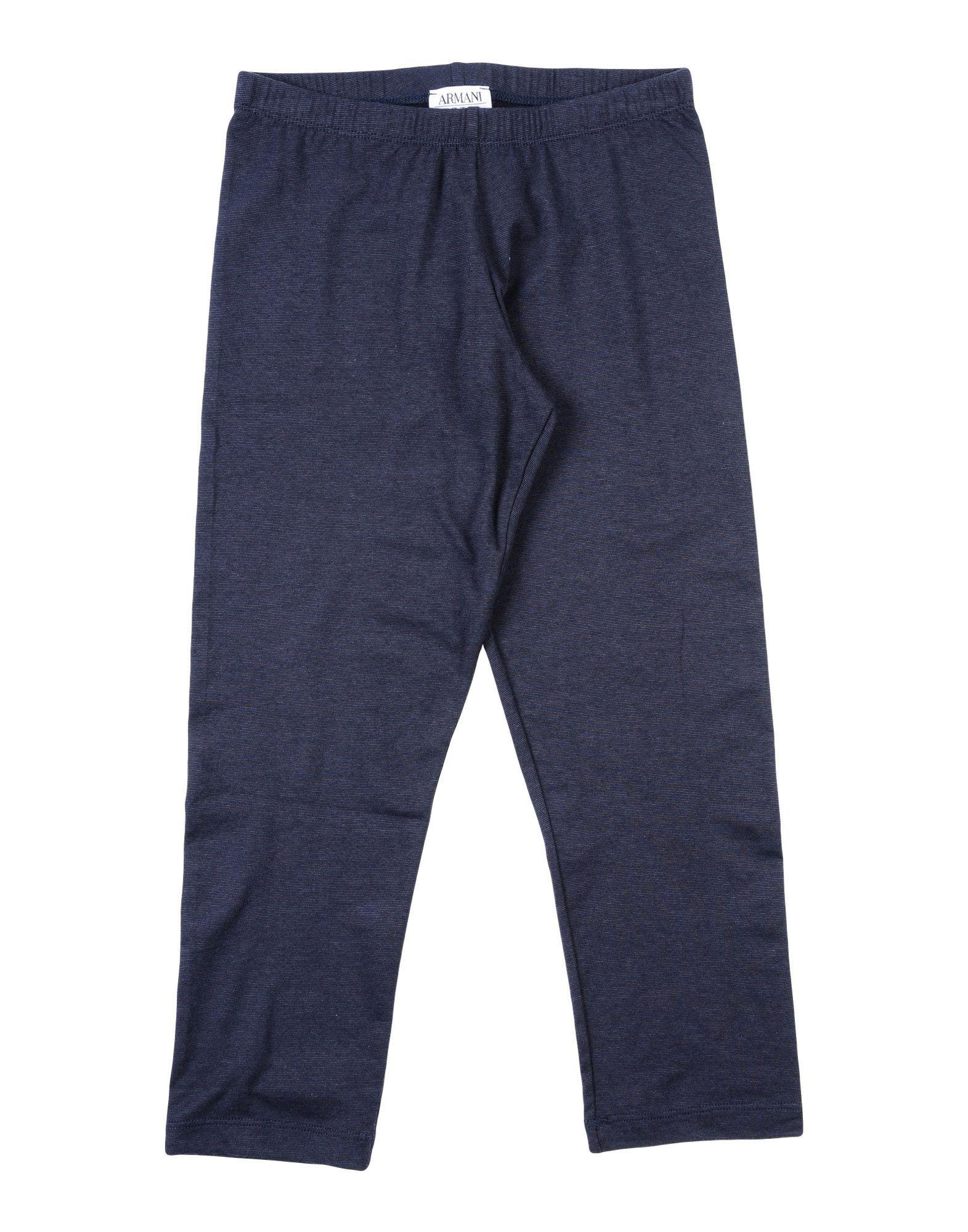 TROUSERS Armani Junior Dark blue Girl Cotton