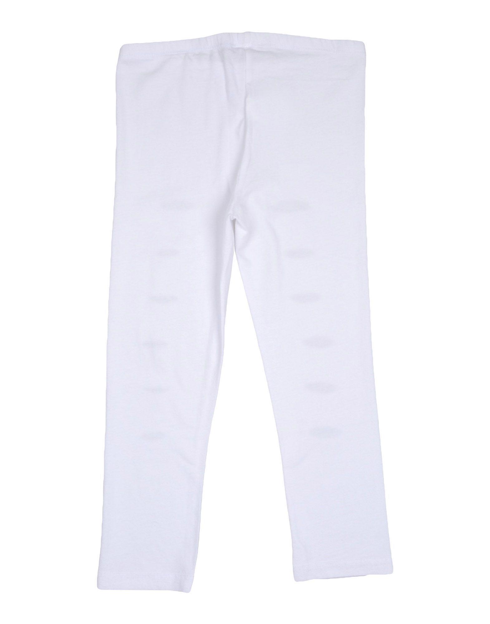 So Twee By Miss Grant Girl Leggings White Cotton