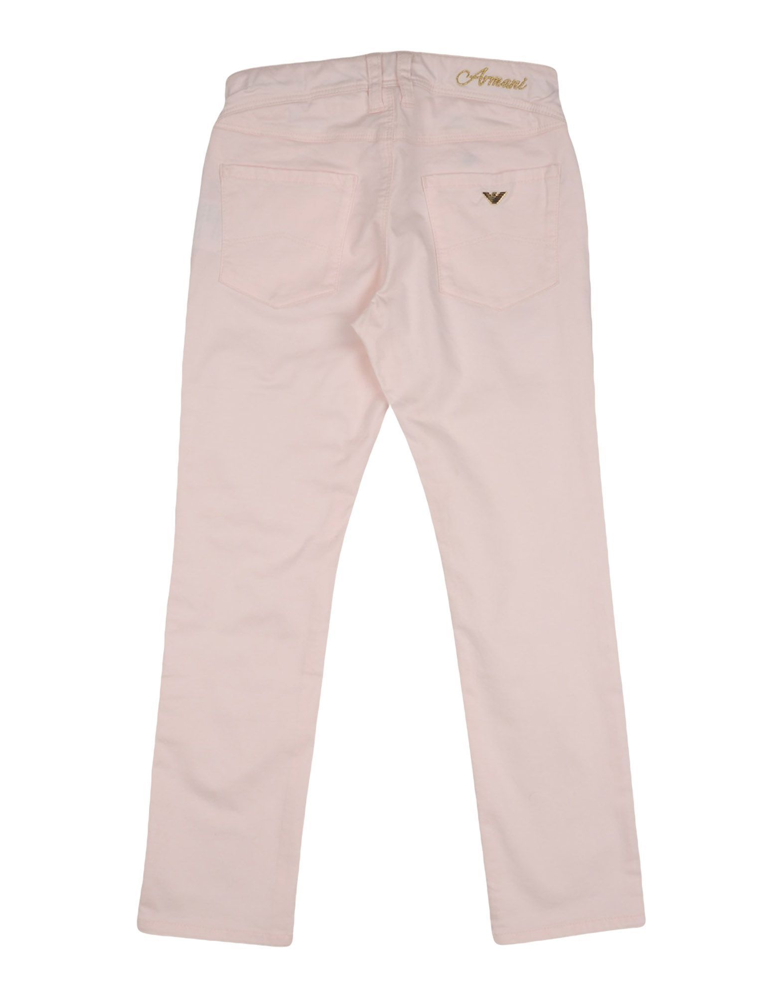 TROUSERS Armani Junior Light pink Girl Cotton