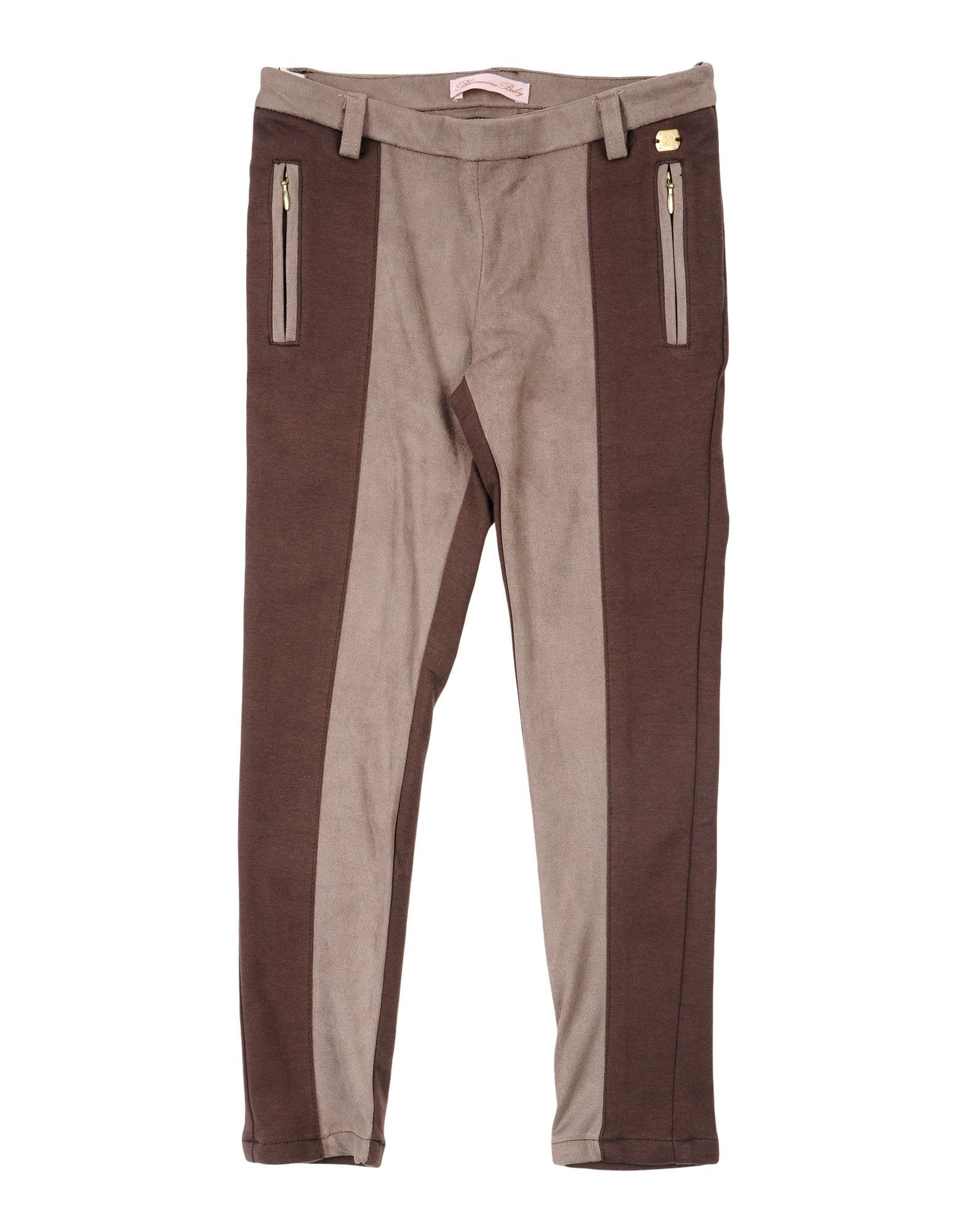TROUSERS Miss Blumarine Khaki Girl Cotton