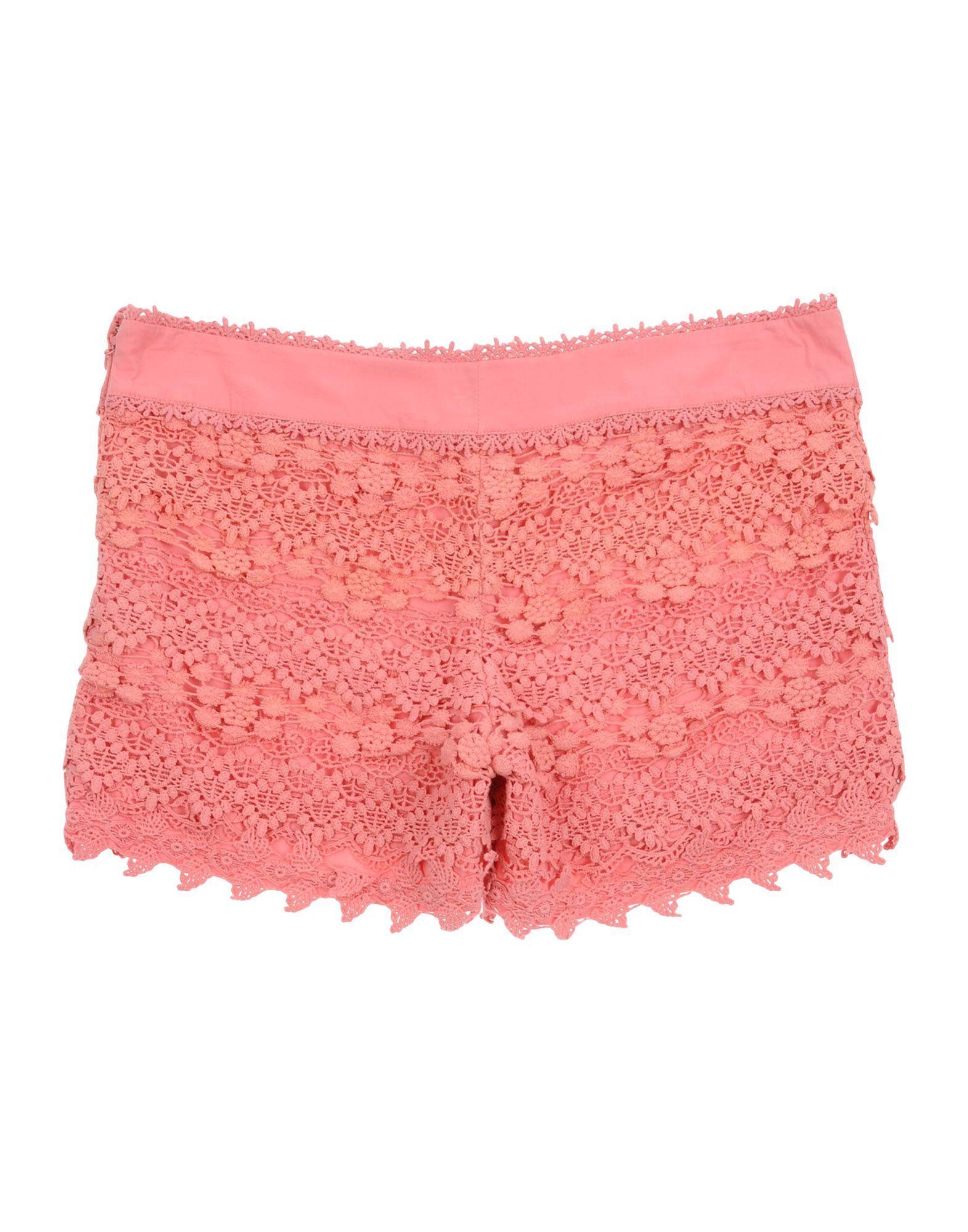 Twinset Girl Shorts Pink Cotton