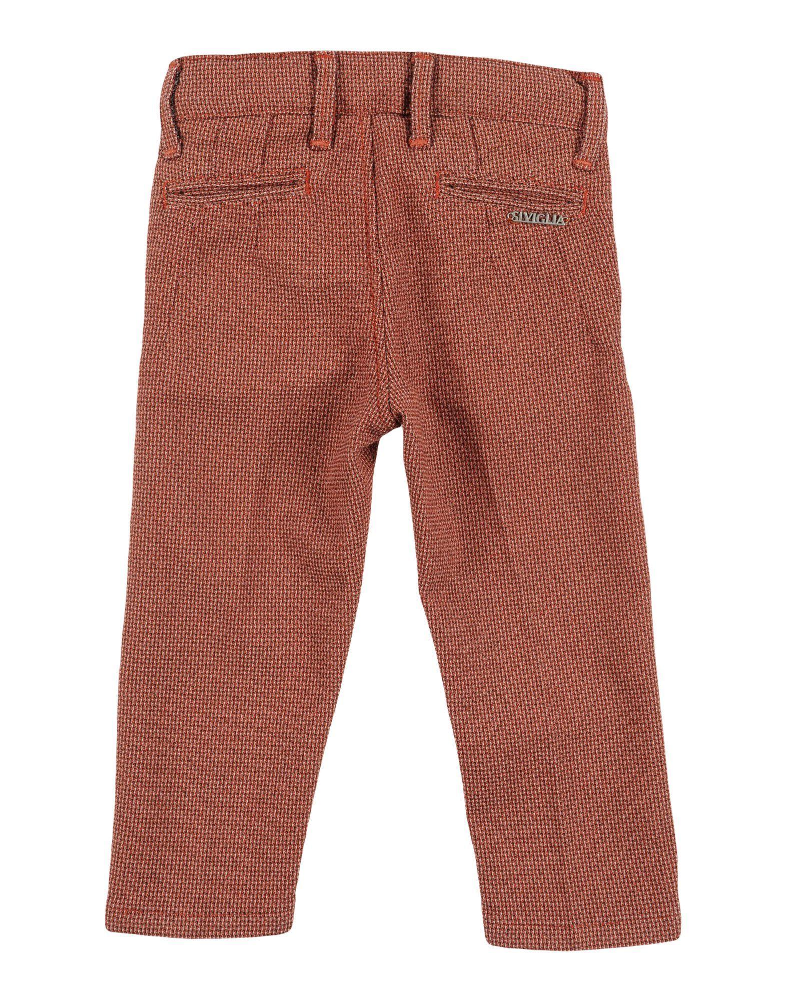 TROUSERS Siviglia Rust Boy Cotton