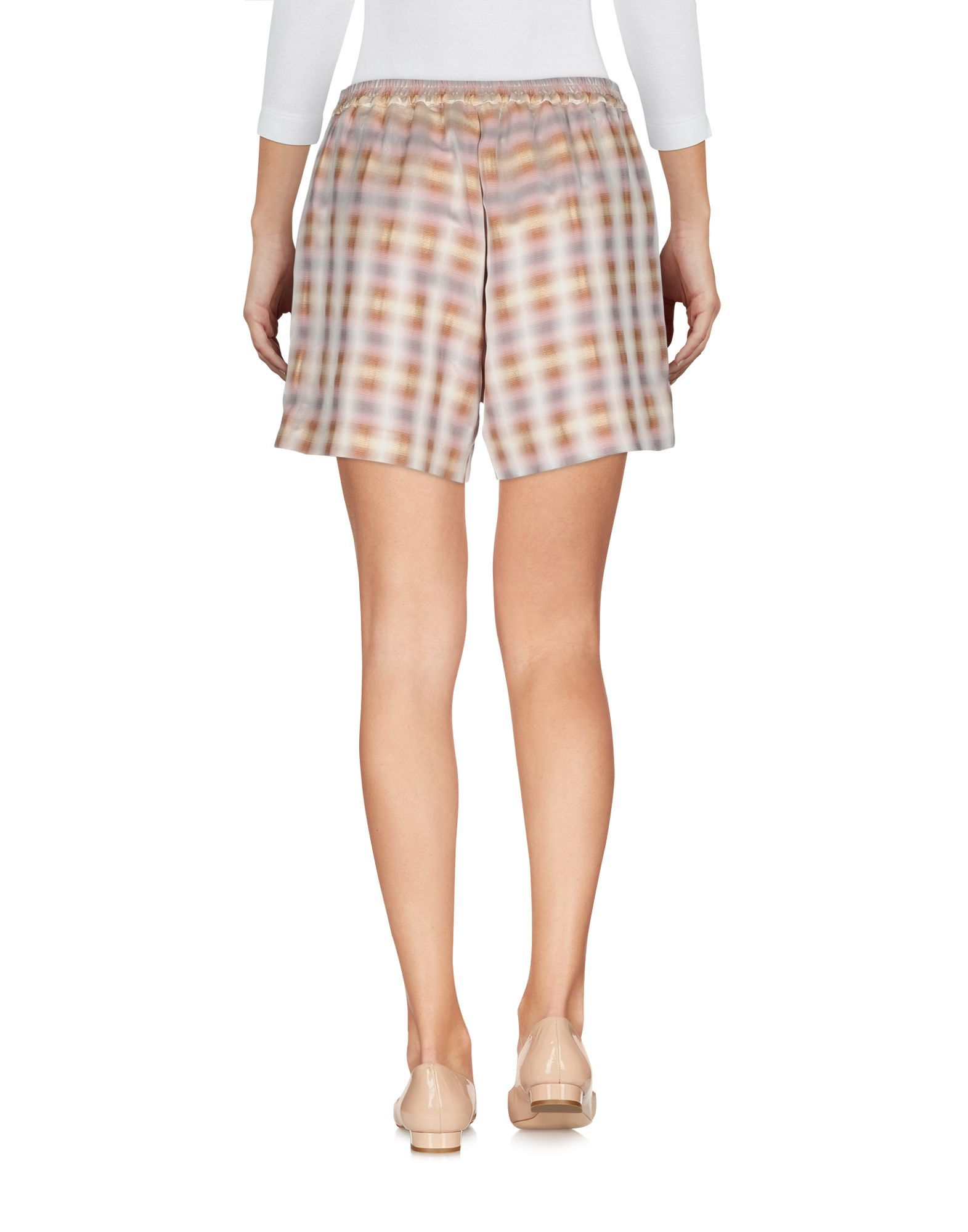 Attic And Barn Beige Pattern Shorts
