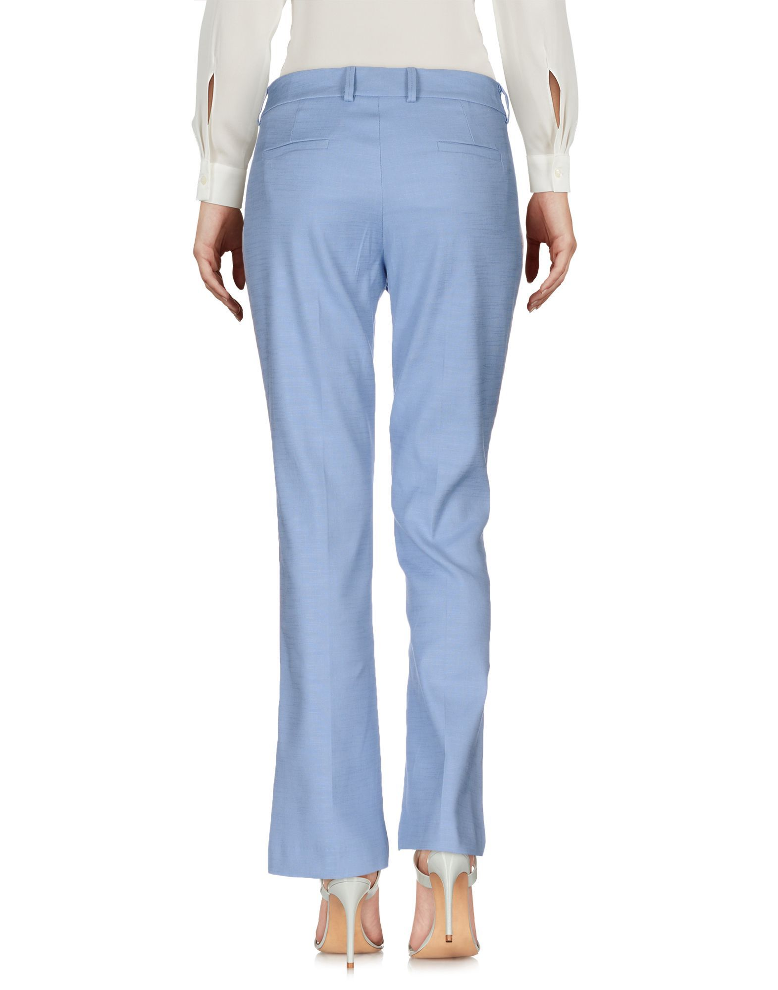 TROUSERS Giuliette Brown Azure Woman Polyester