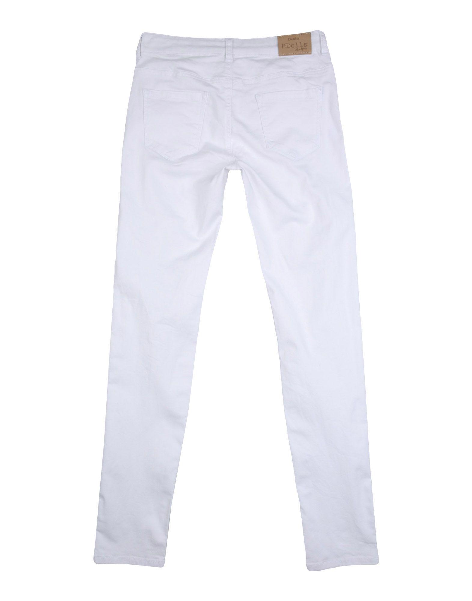 Silvian Heach Girl Casual trousers White Cotton