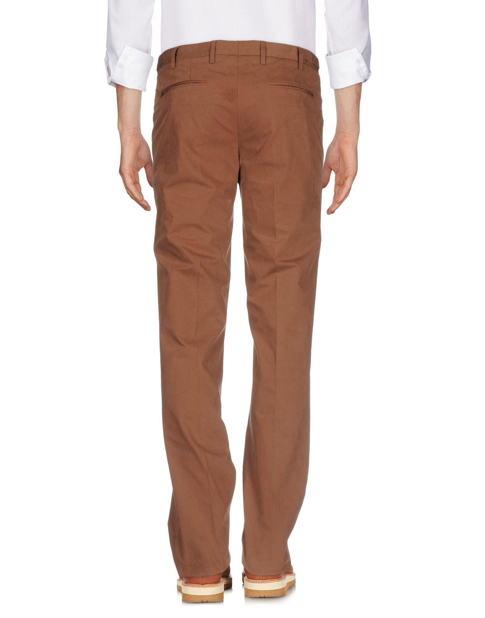 TROUSERS Belstaff Brown Man Cotton