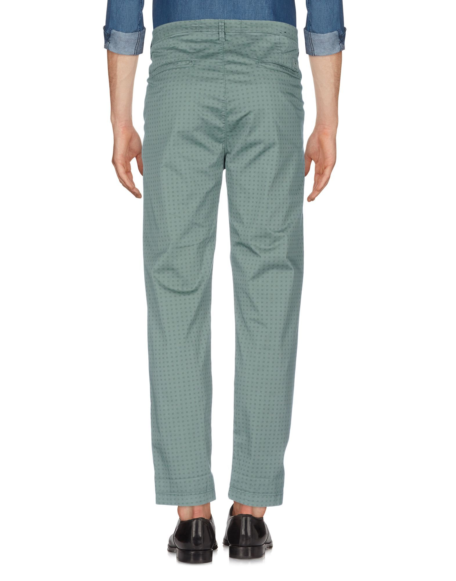 TROUSERS Man Guess Green Cotton