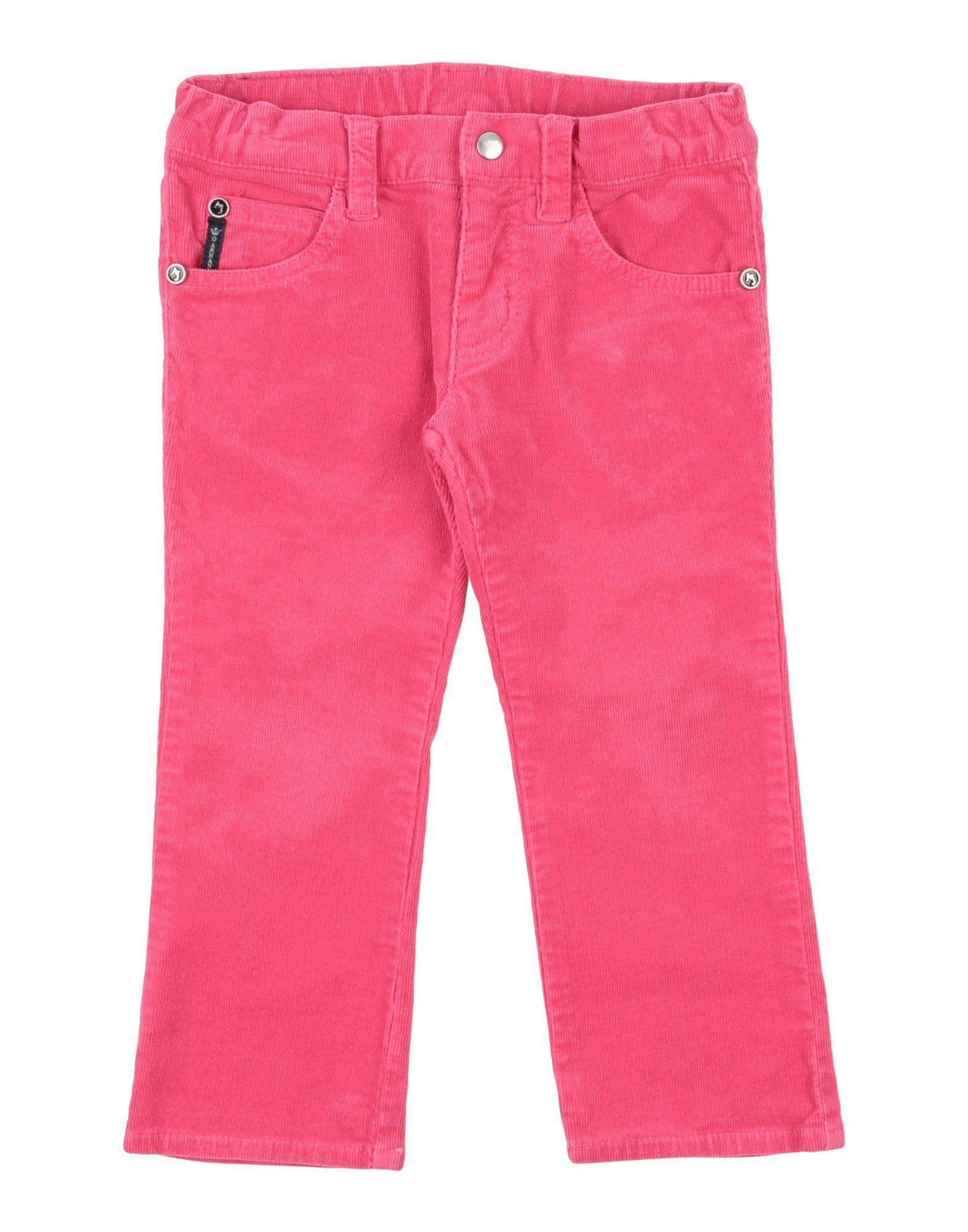 TROUSERS Armani Junior Fuchsia Girl Cotton