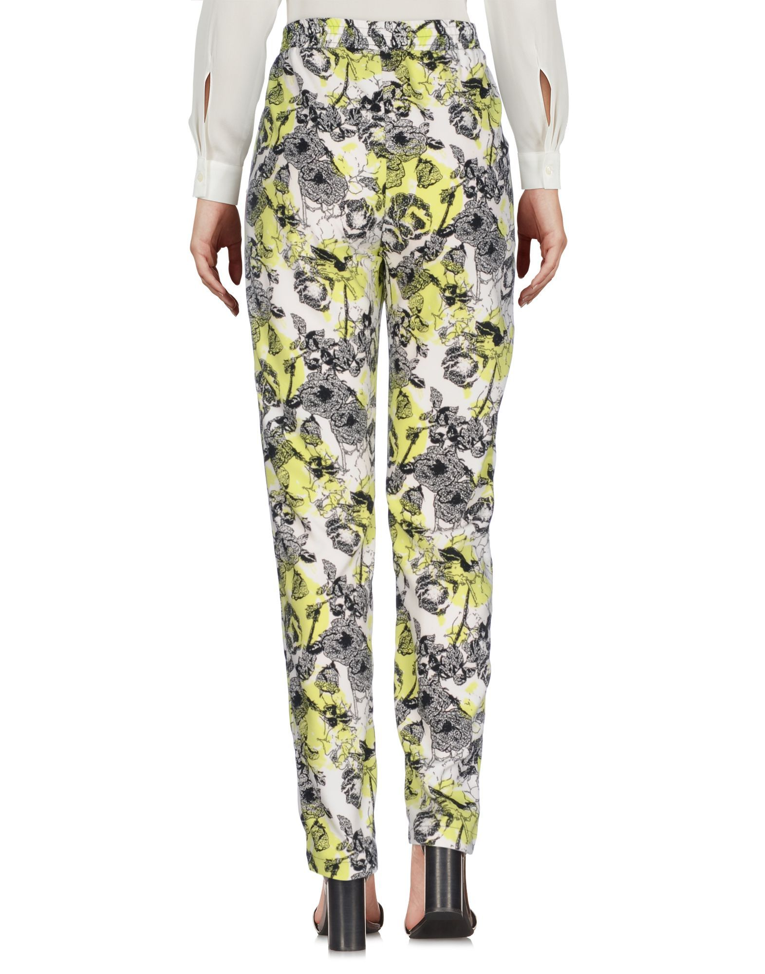 TROUSERS Guess Acid green Woman Polyester