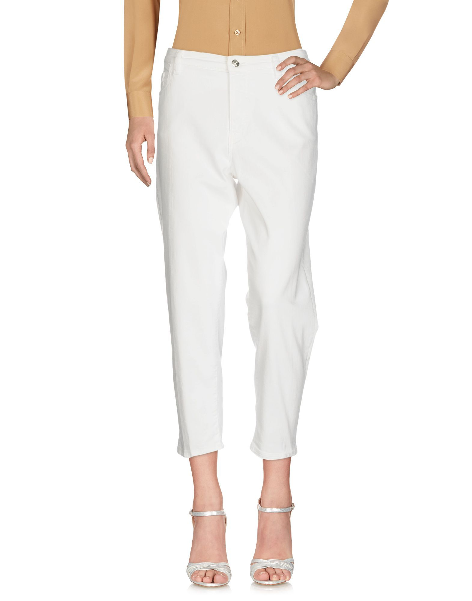 TROUSERS Nine:Inthe:Morning White Woman Cotton