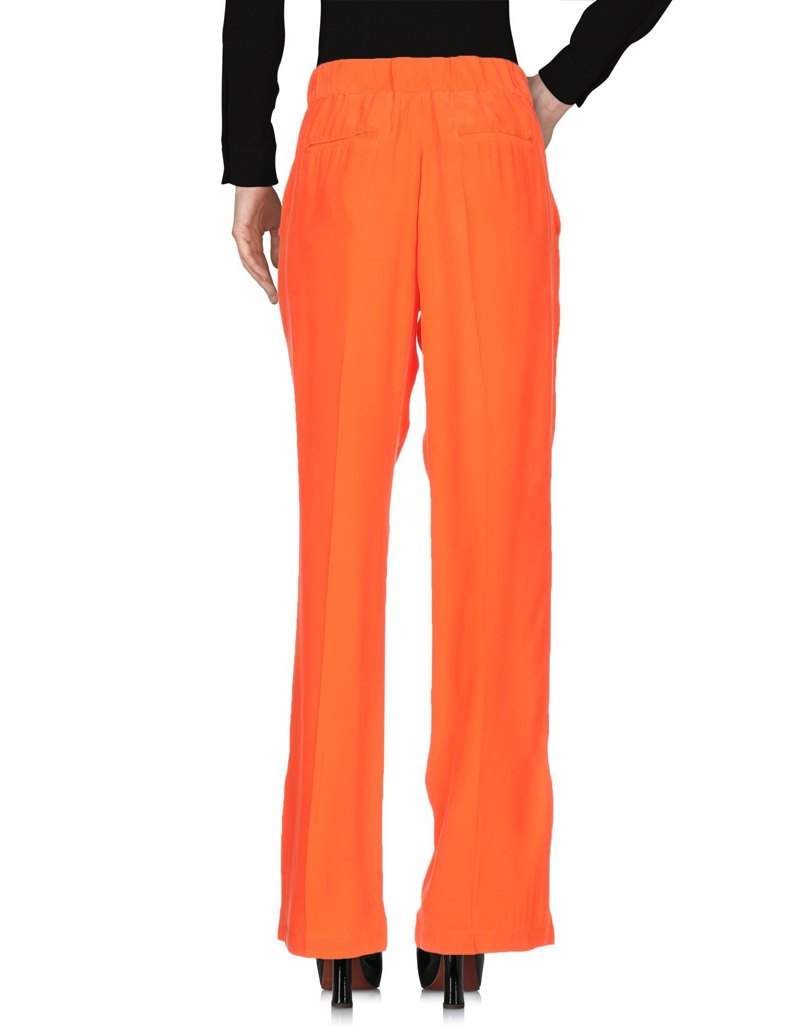 Equipment Red Silk Tailored Trousers
