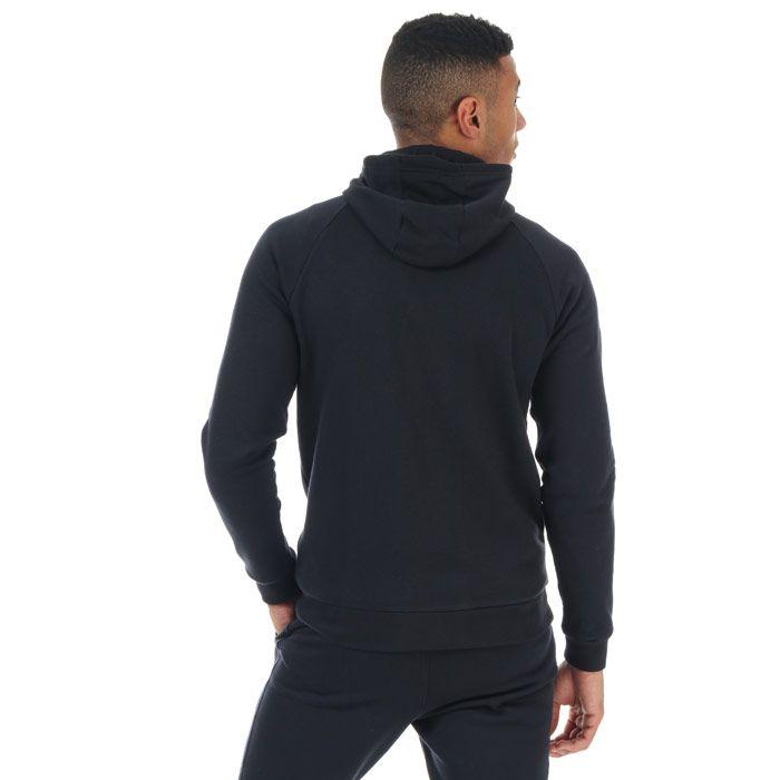 Men's Under Armour Rival Fleece Hoody in Black