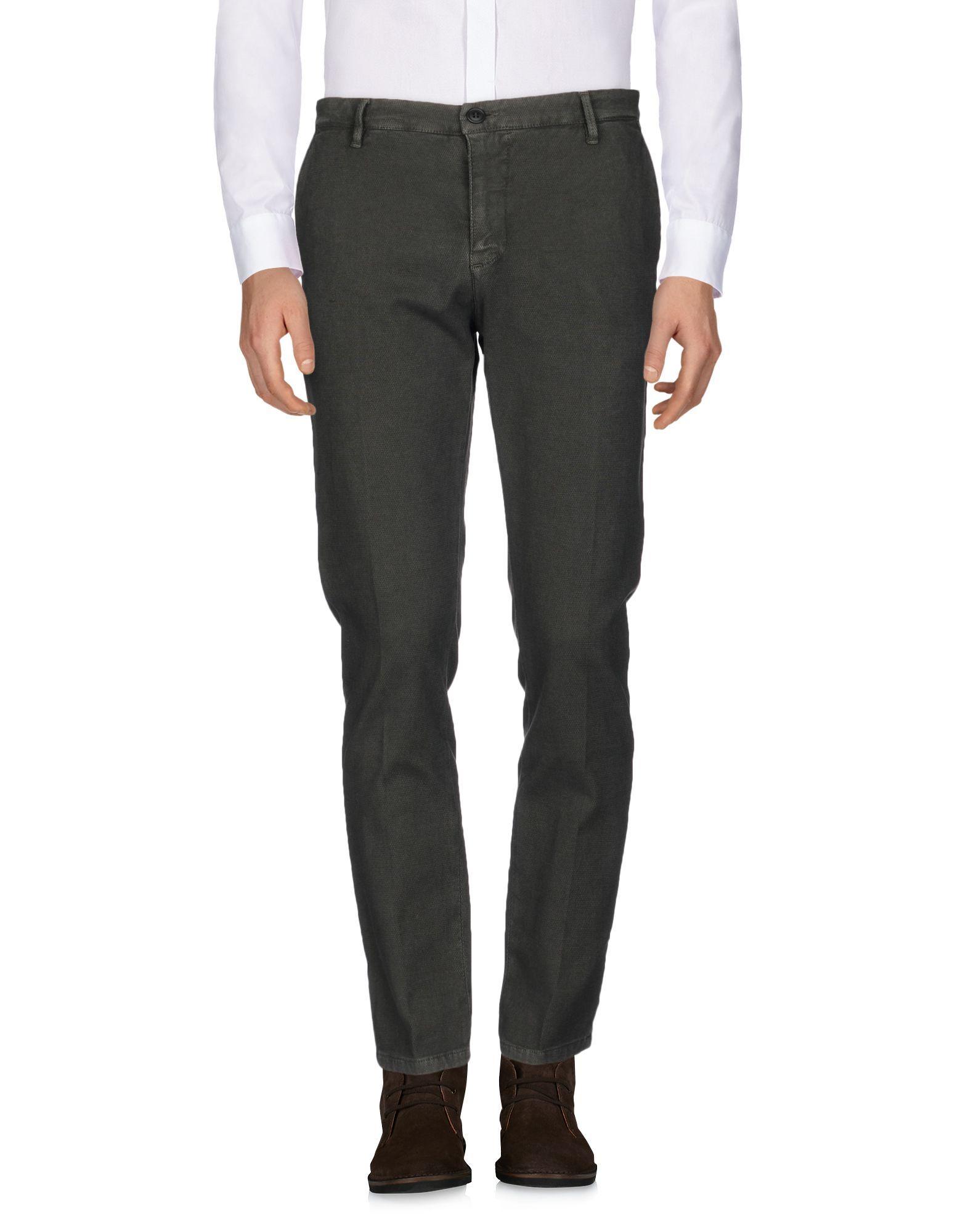 Hamaki-Ho Dark Green Cotton Trousers