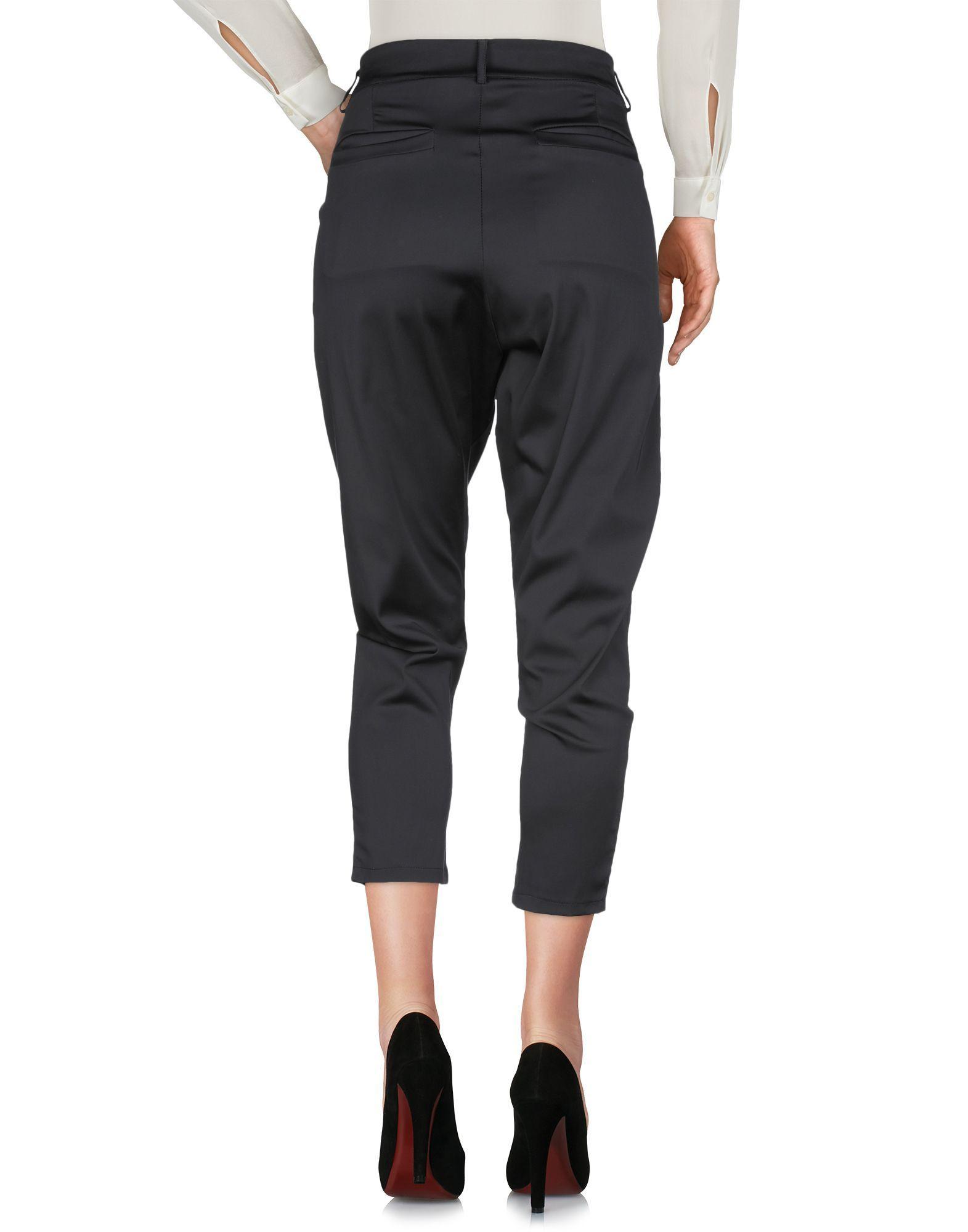 Trousers Souvenir Black Women's Polyamid