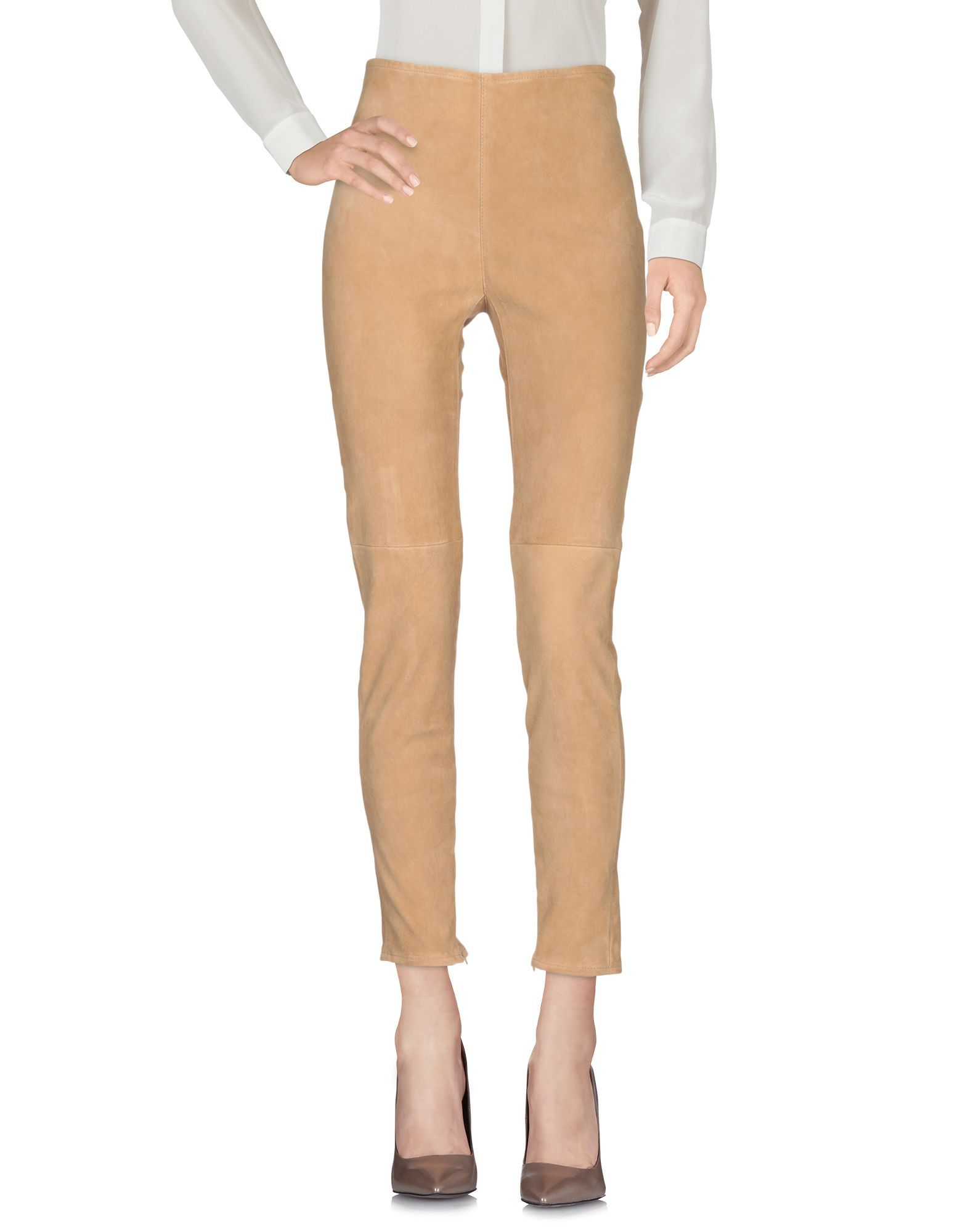 TROUSERS Liviana Conti Sand Woman Leather