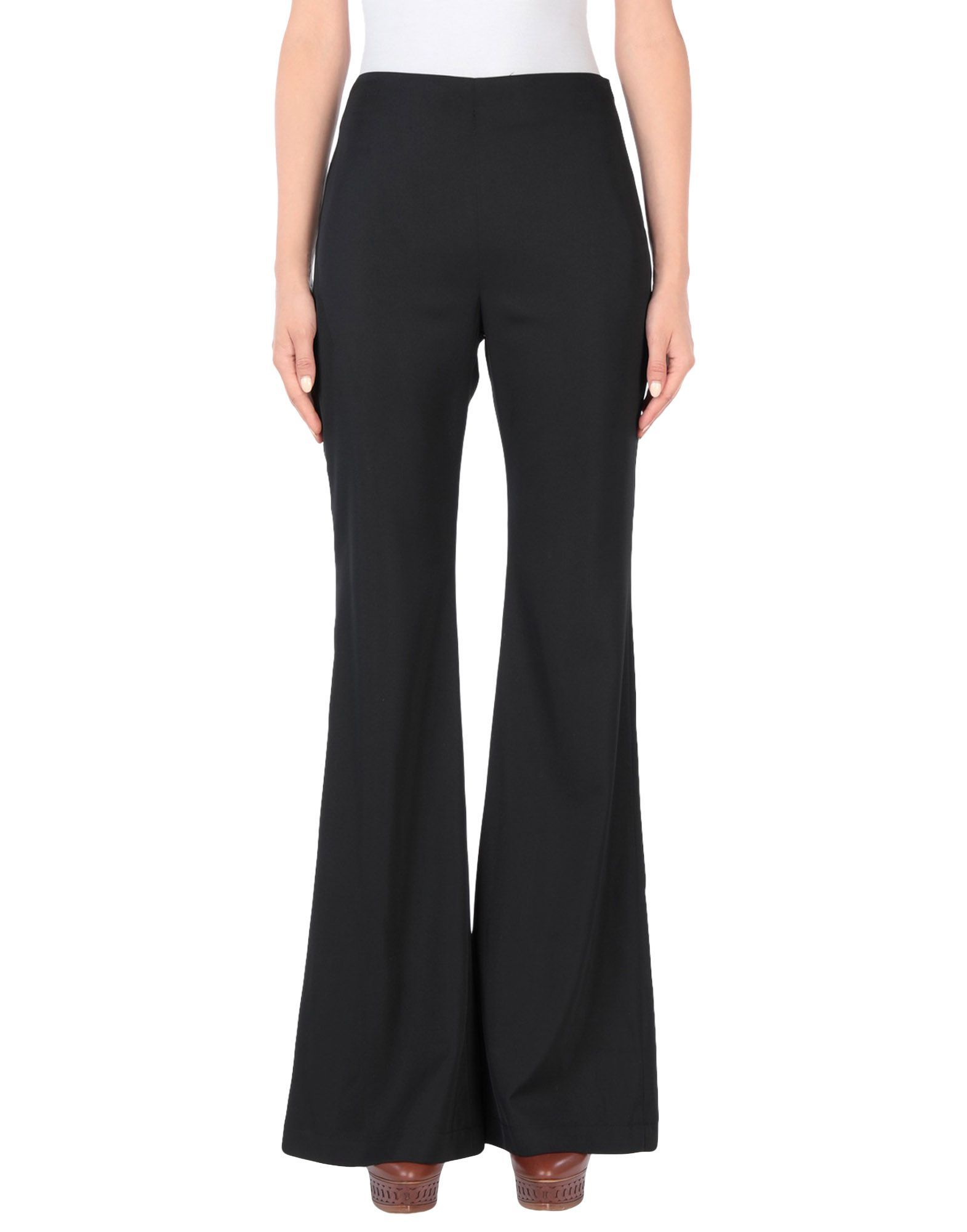 Pinko Black Wide Leg Trousers