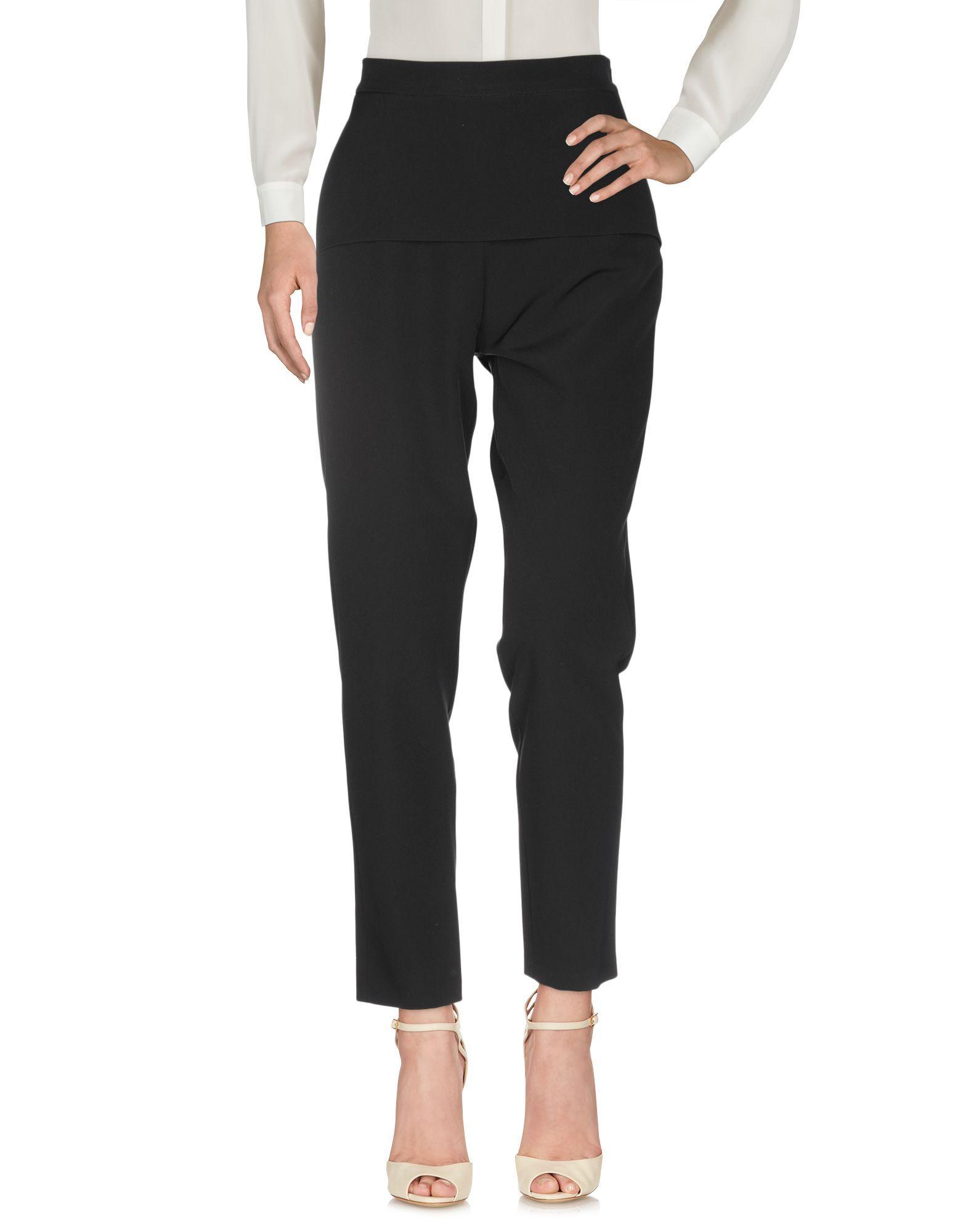 La Kore Black Tailored Trousers
