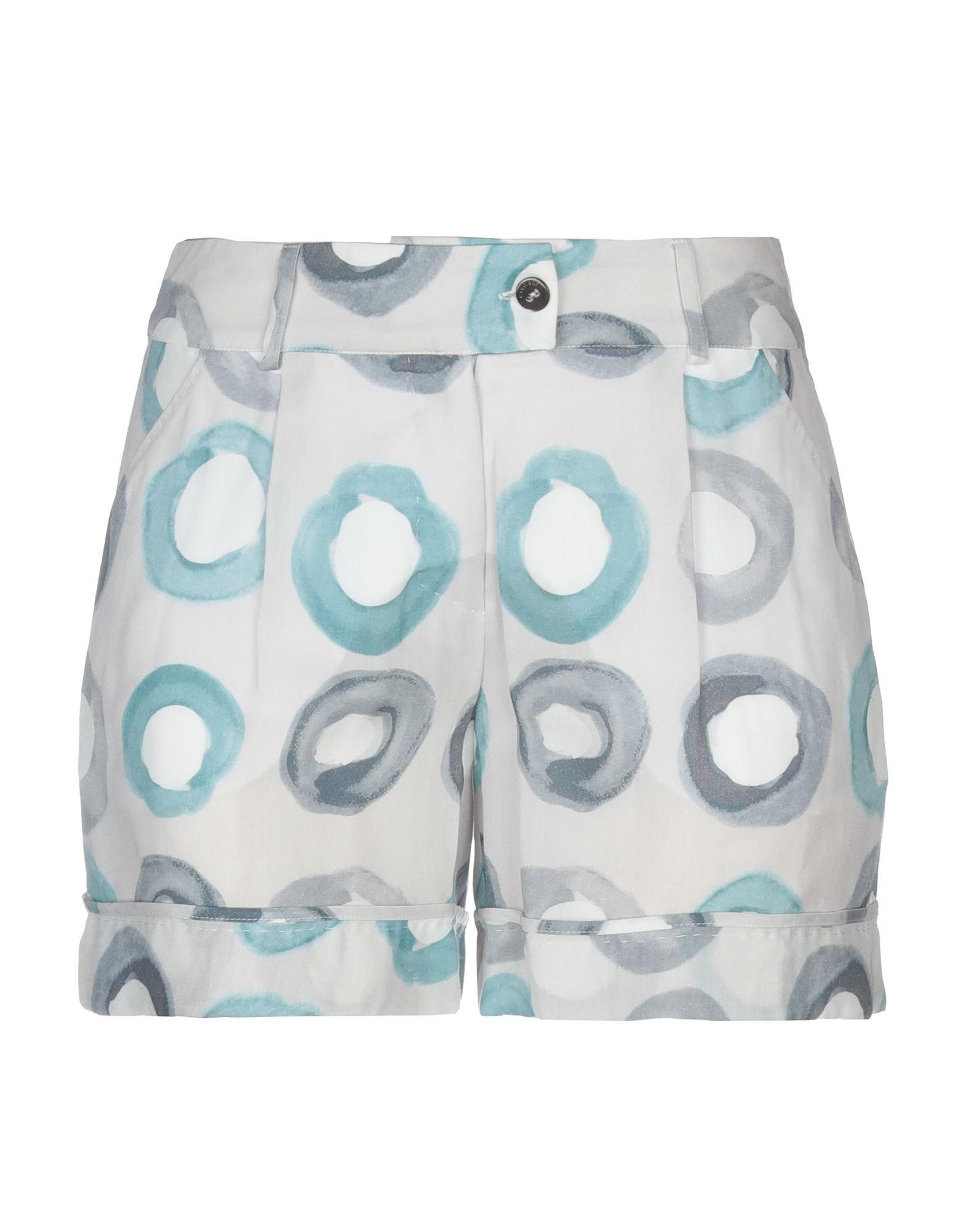 Cruciani Light Grey Pattern Shorts
