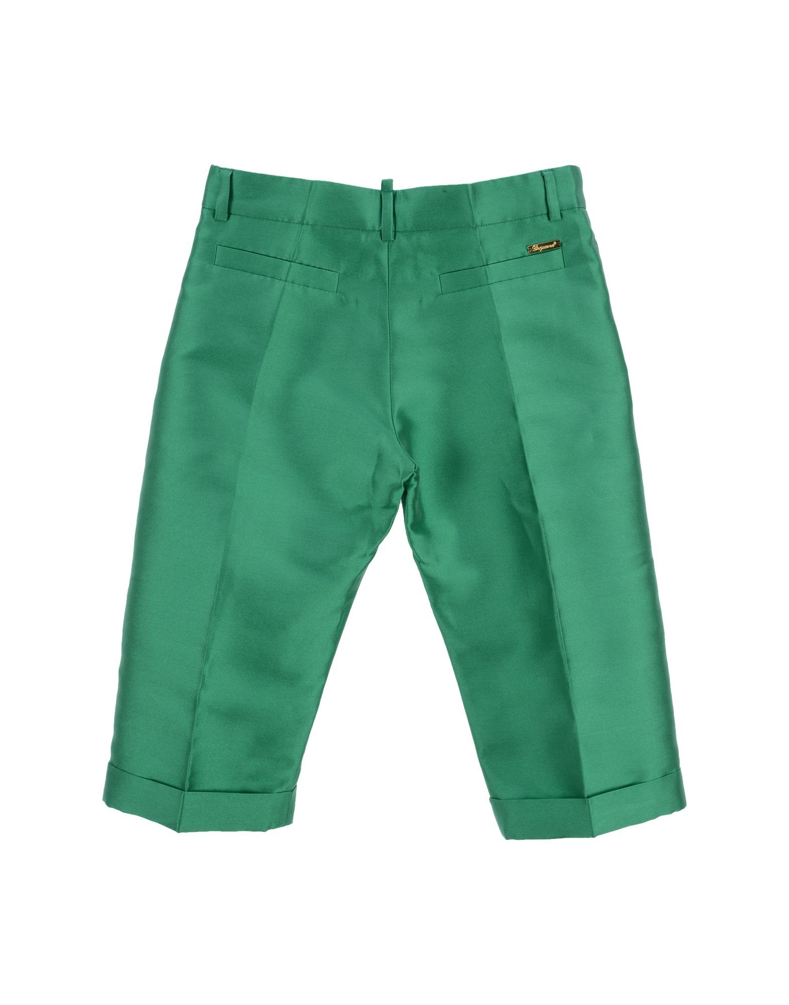TROUSERS Boy Dsquared2 Green Polyester
