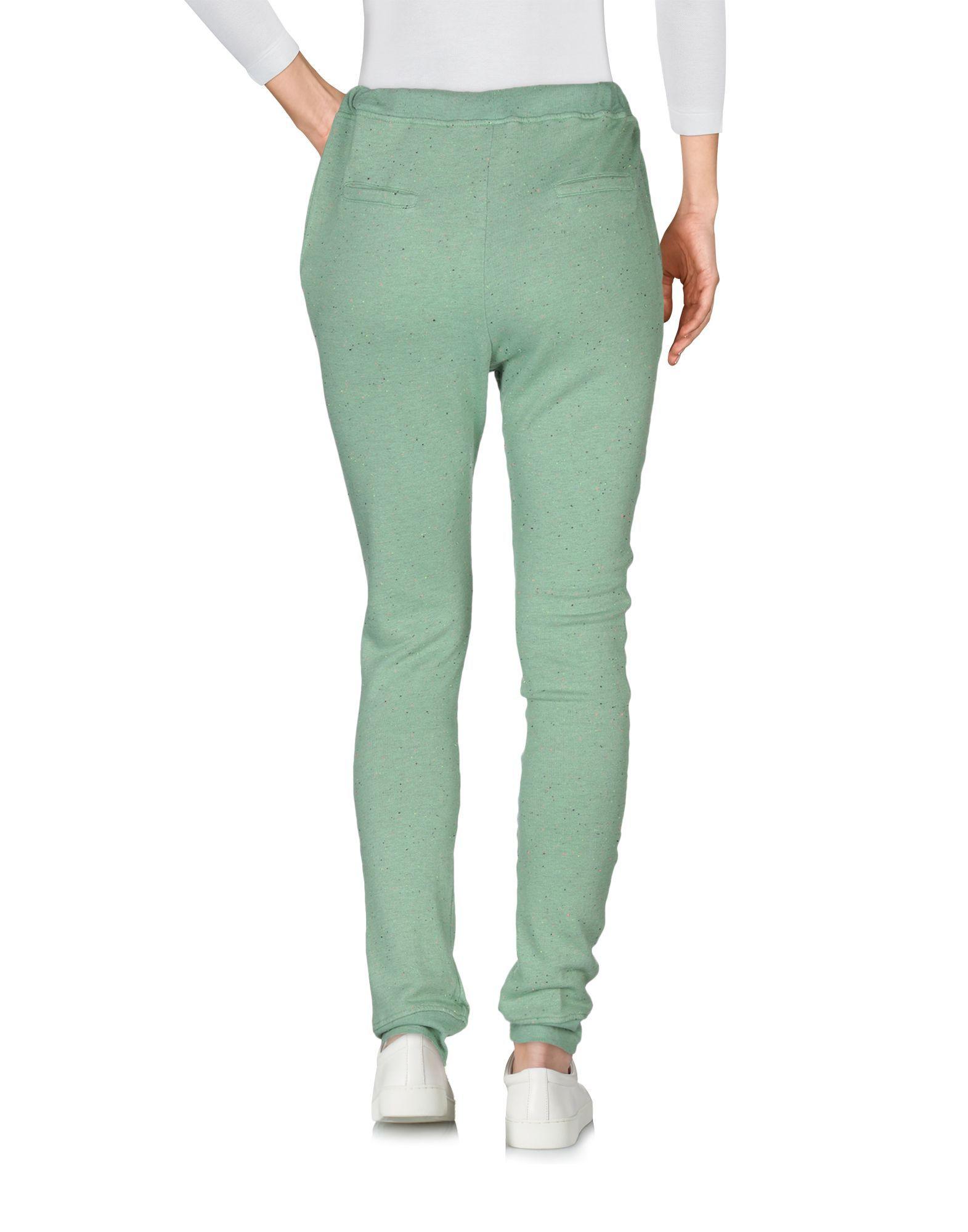 TROUSERS Jijil Green Woman Cotton