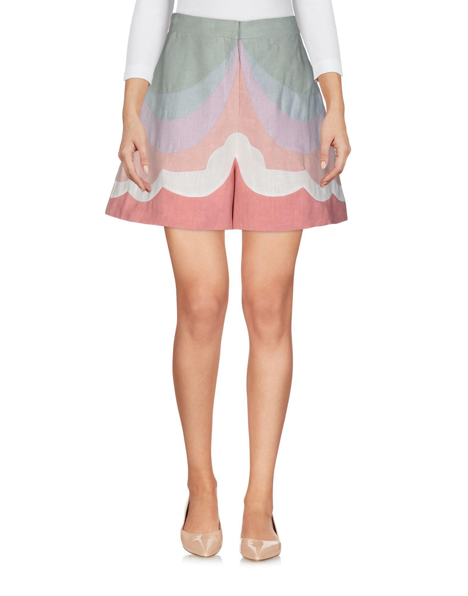 Valentino Pink Linen Shorts