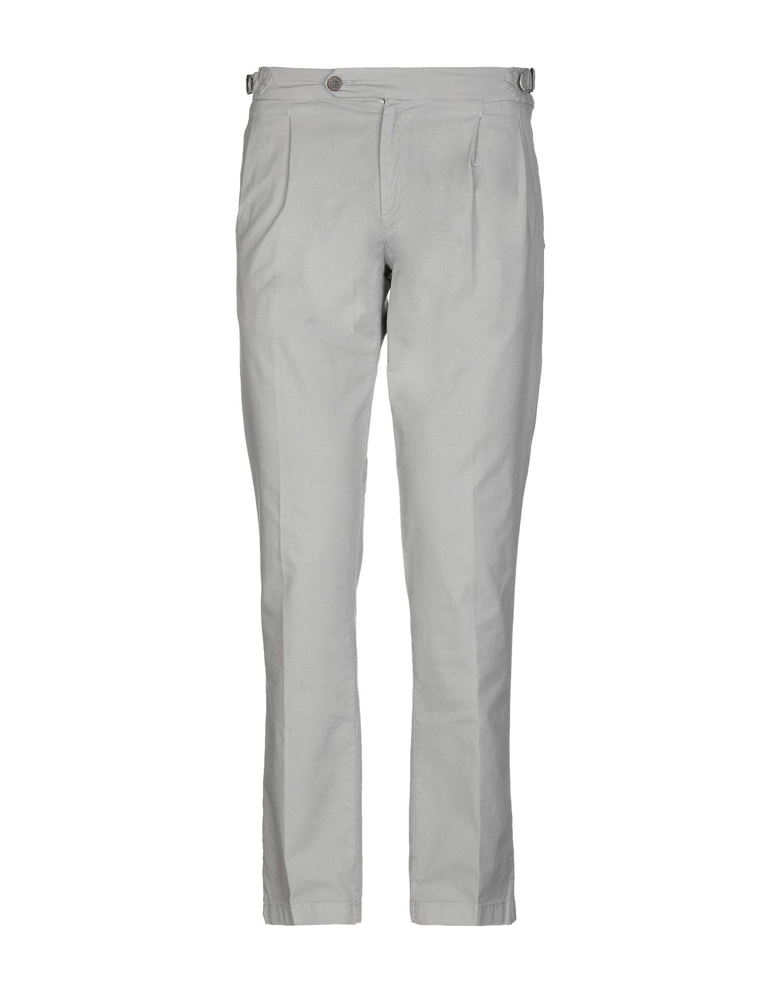 TROUSERS Man Re-Hash Light grey Cotton