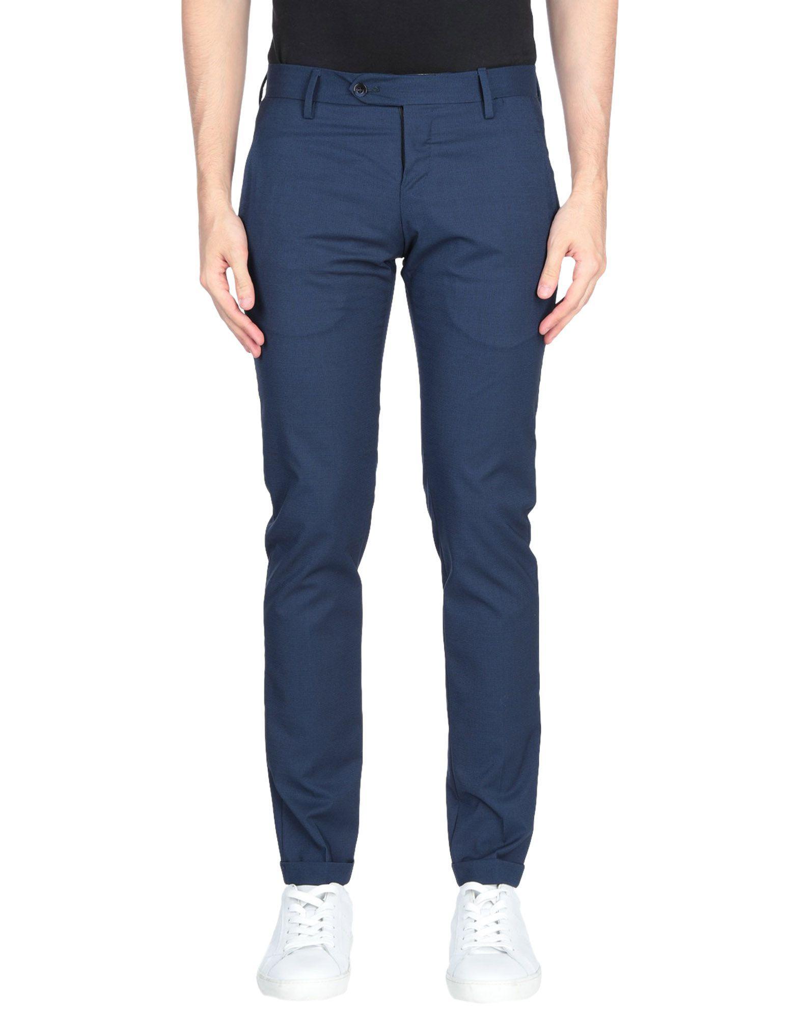Michael Coal Dark Blue Trousers