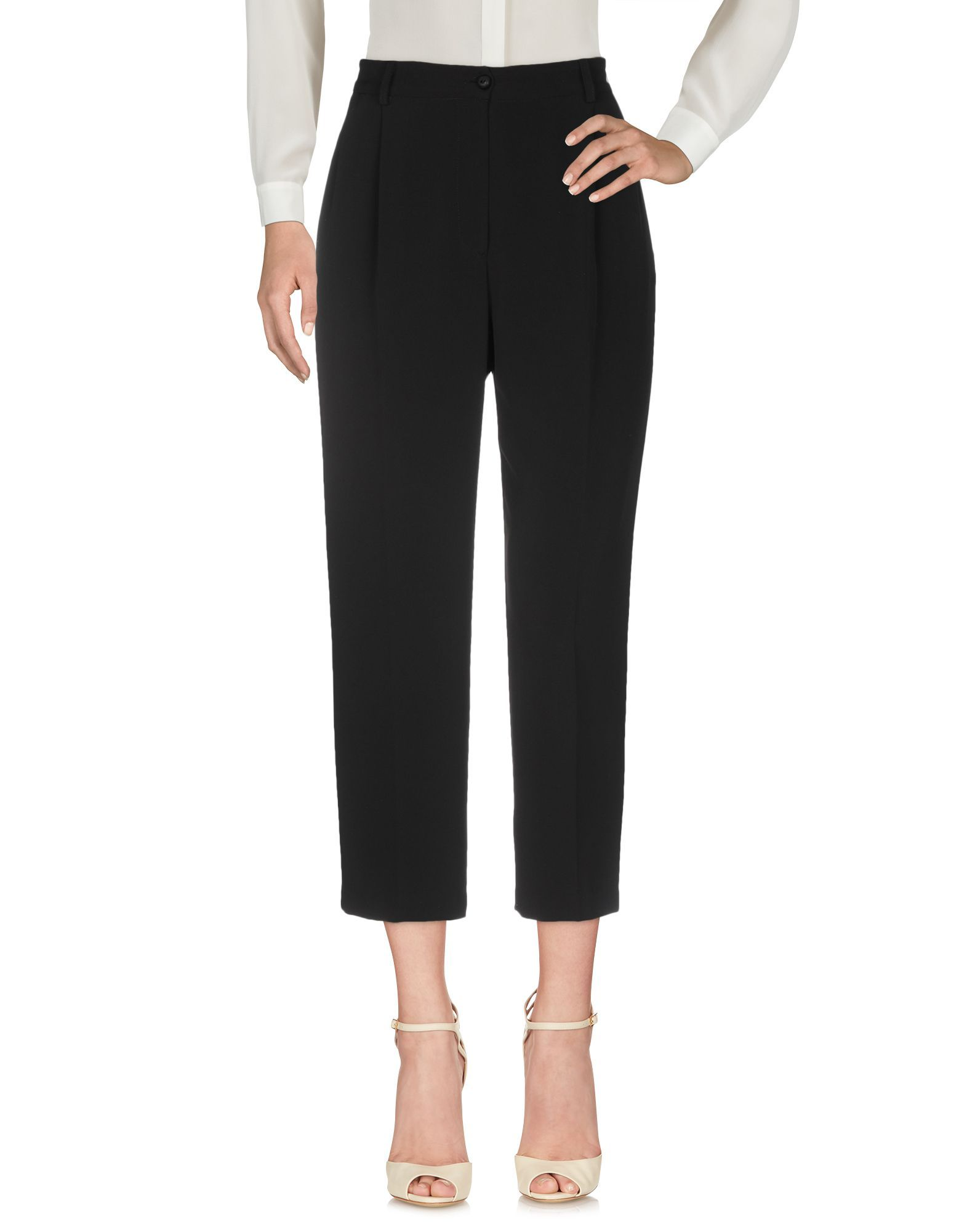 Trousers Nora Barth Black Women's Polyester