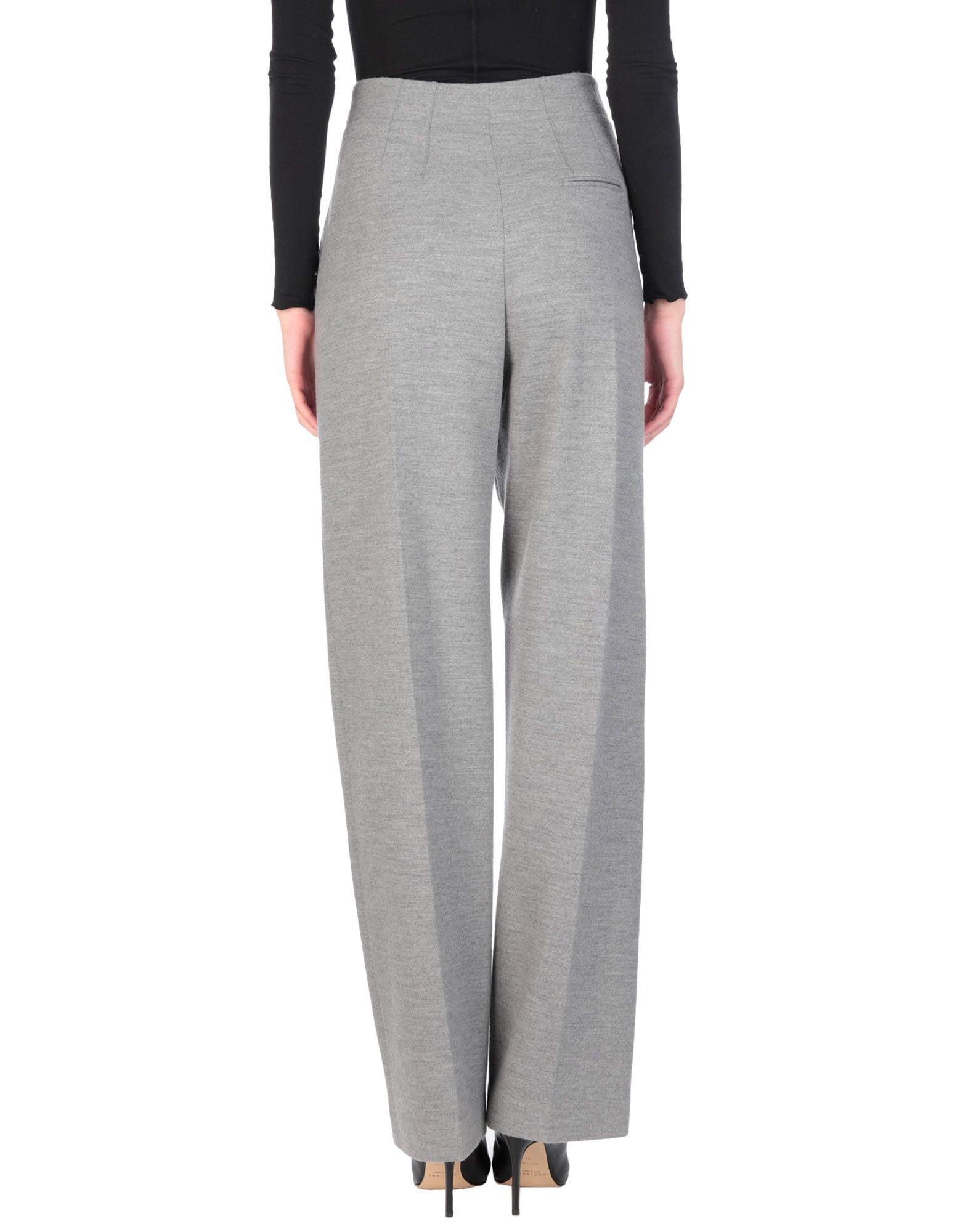 Stella McCartney Grey Wool Tailored Trousers