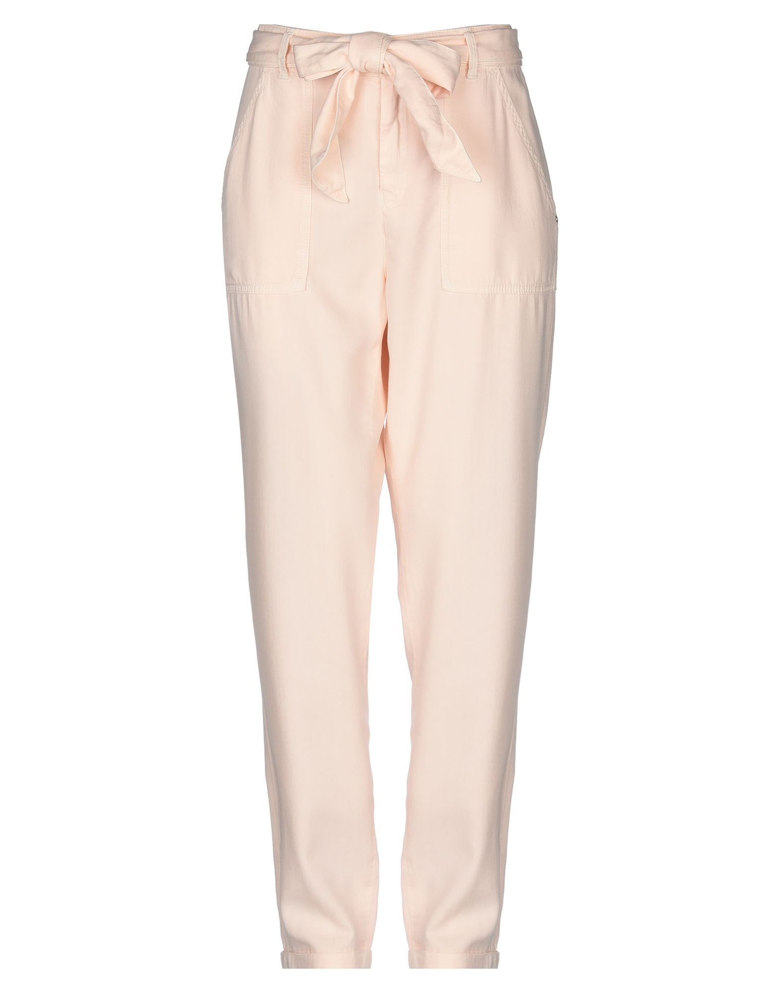 Gas Light Pink Straight Leg Trousers