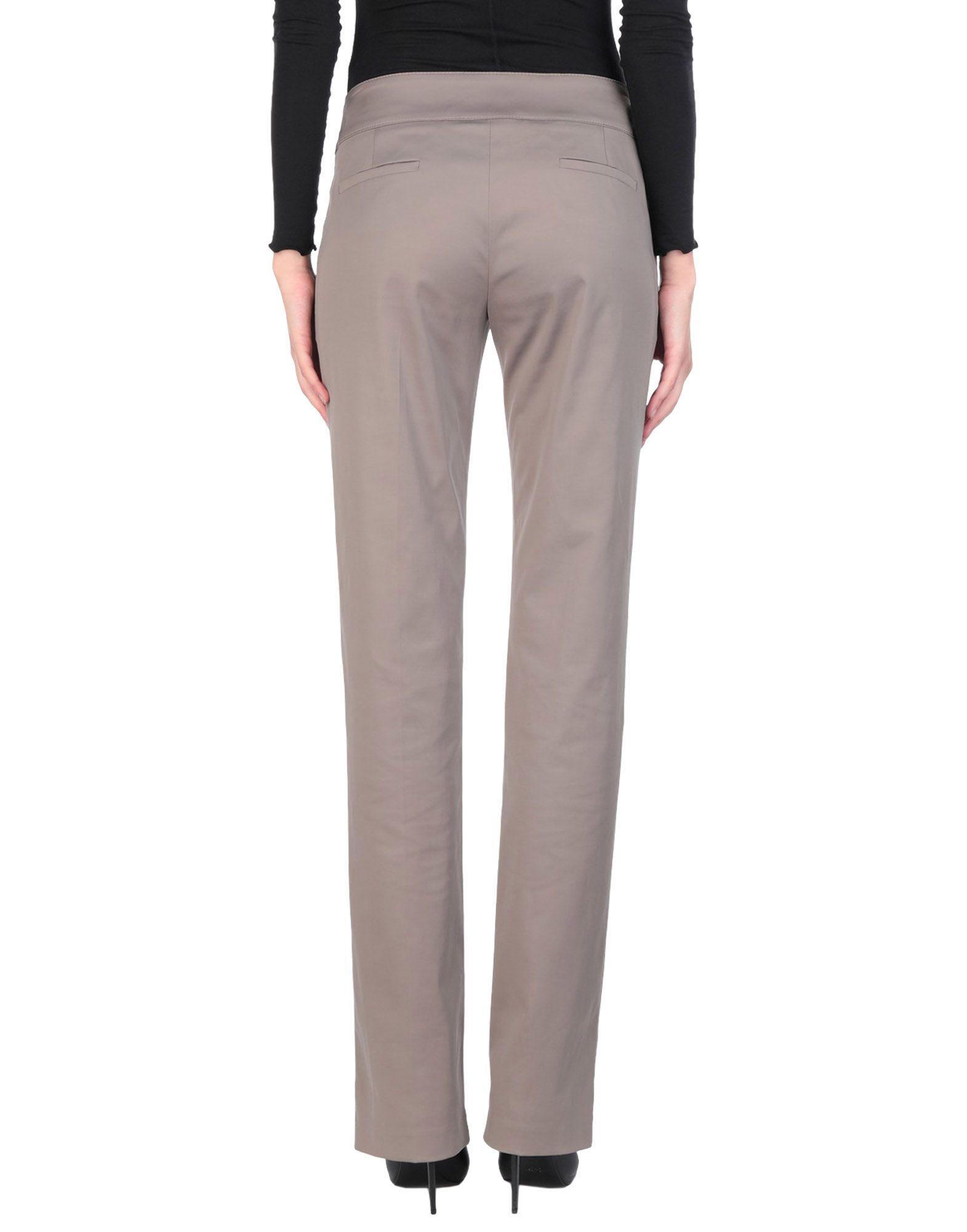 Elisabetta Franchi Grey Trousers