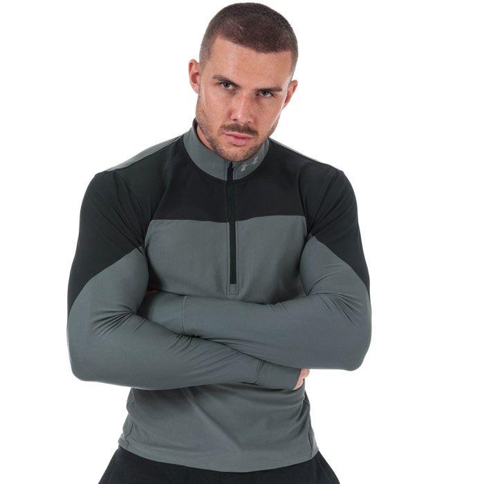 Men's Under Armour UA Qualifier Half Zip Top in Black
