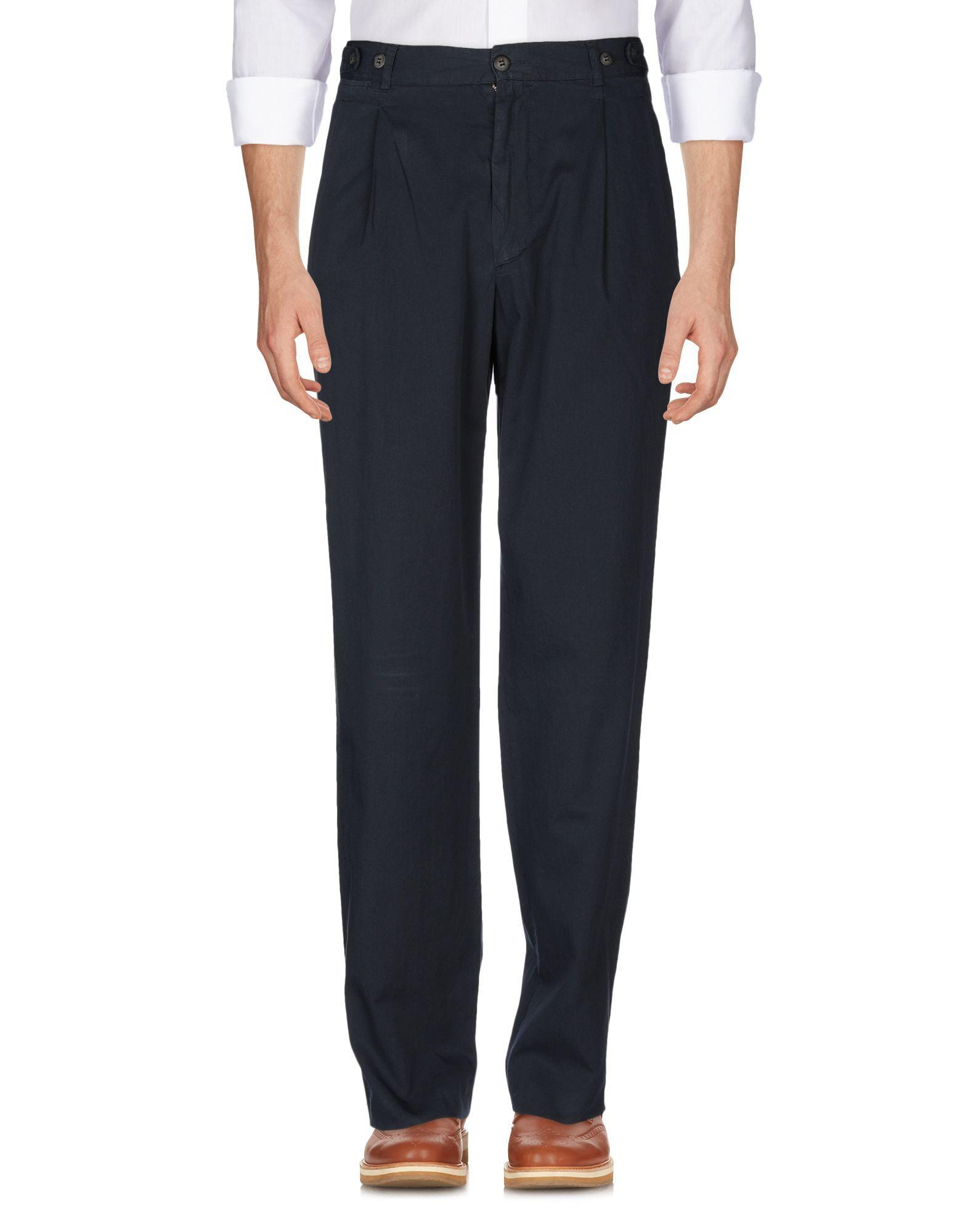 Henry Cotton's Dark Blue Cotton Trousers